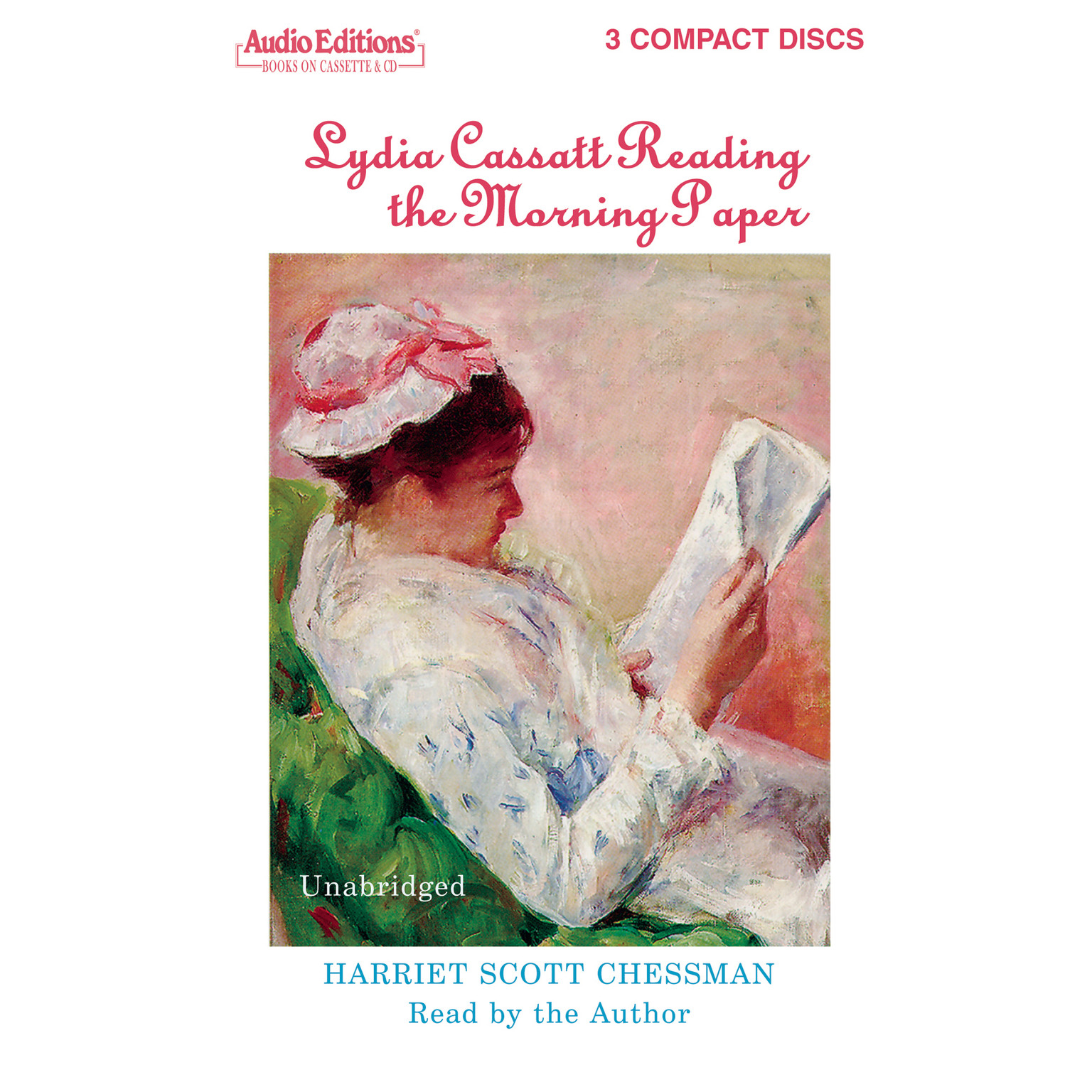 Printable Lydia Cassatt Reading the Morning Paper Audiobook Cover Art
