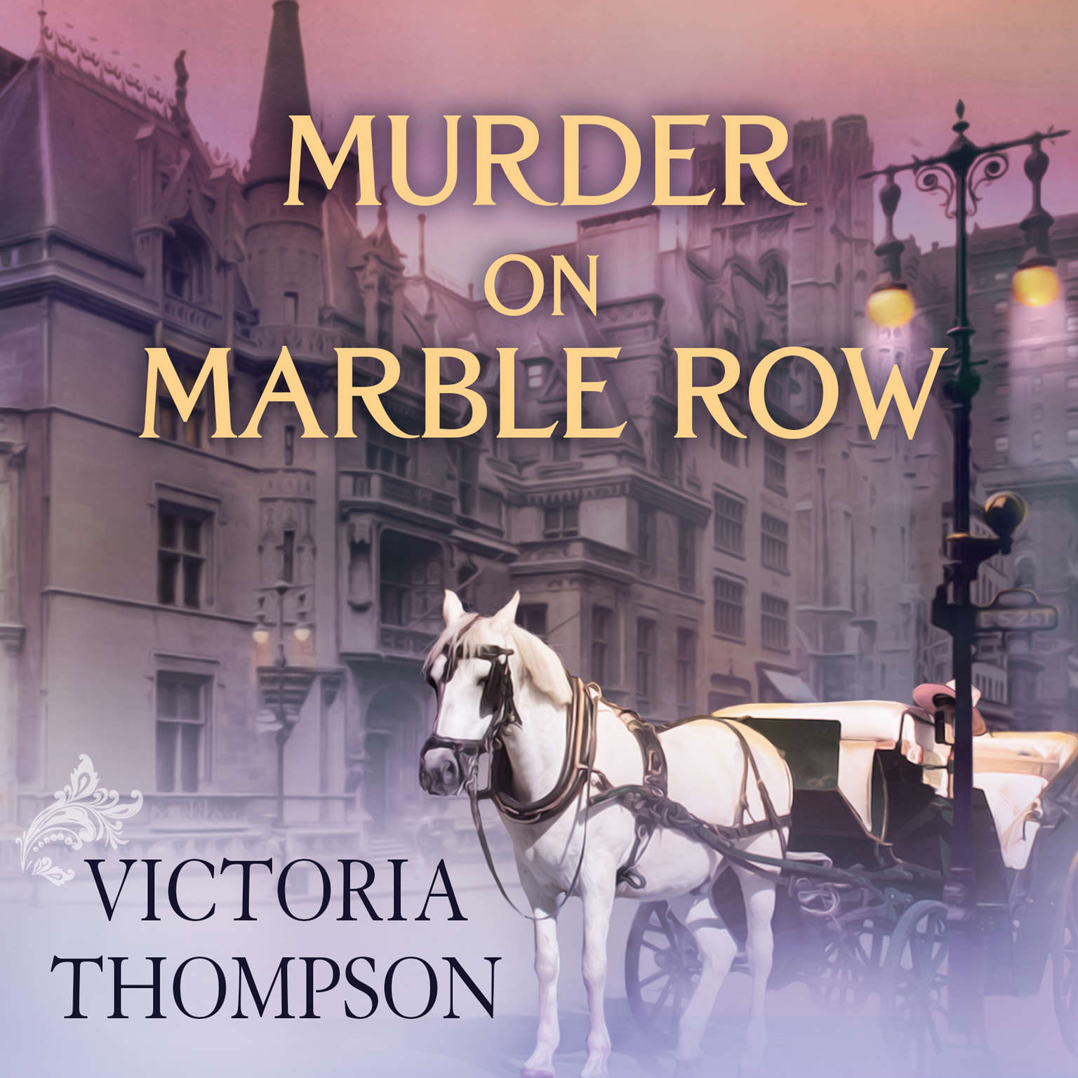 Murder on Marble Row Audiobook, by Victoria Thompson