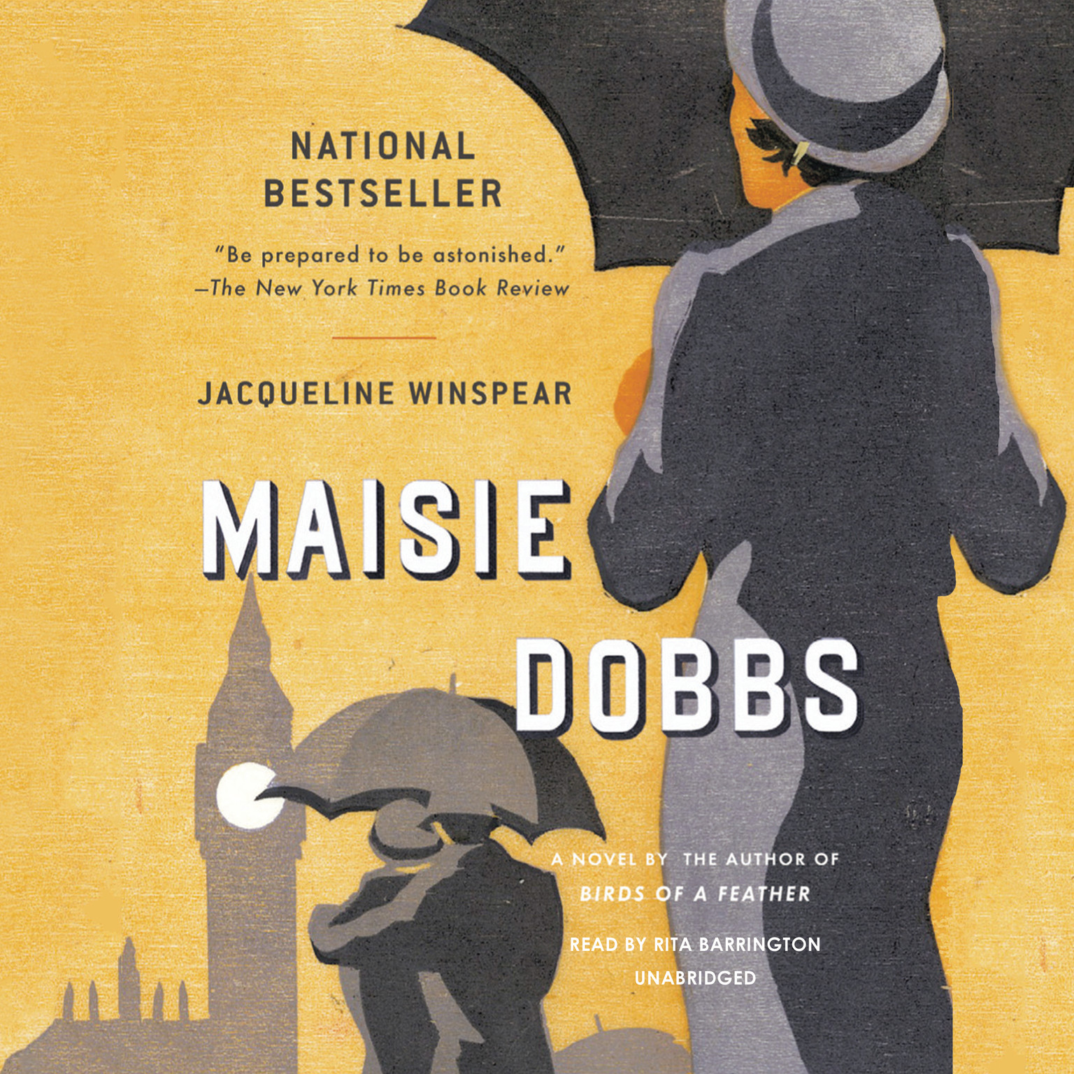 Printable Maisie Dobbs Audiobook Cover Art