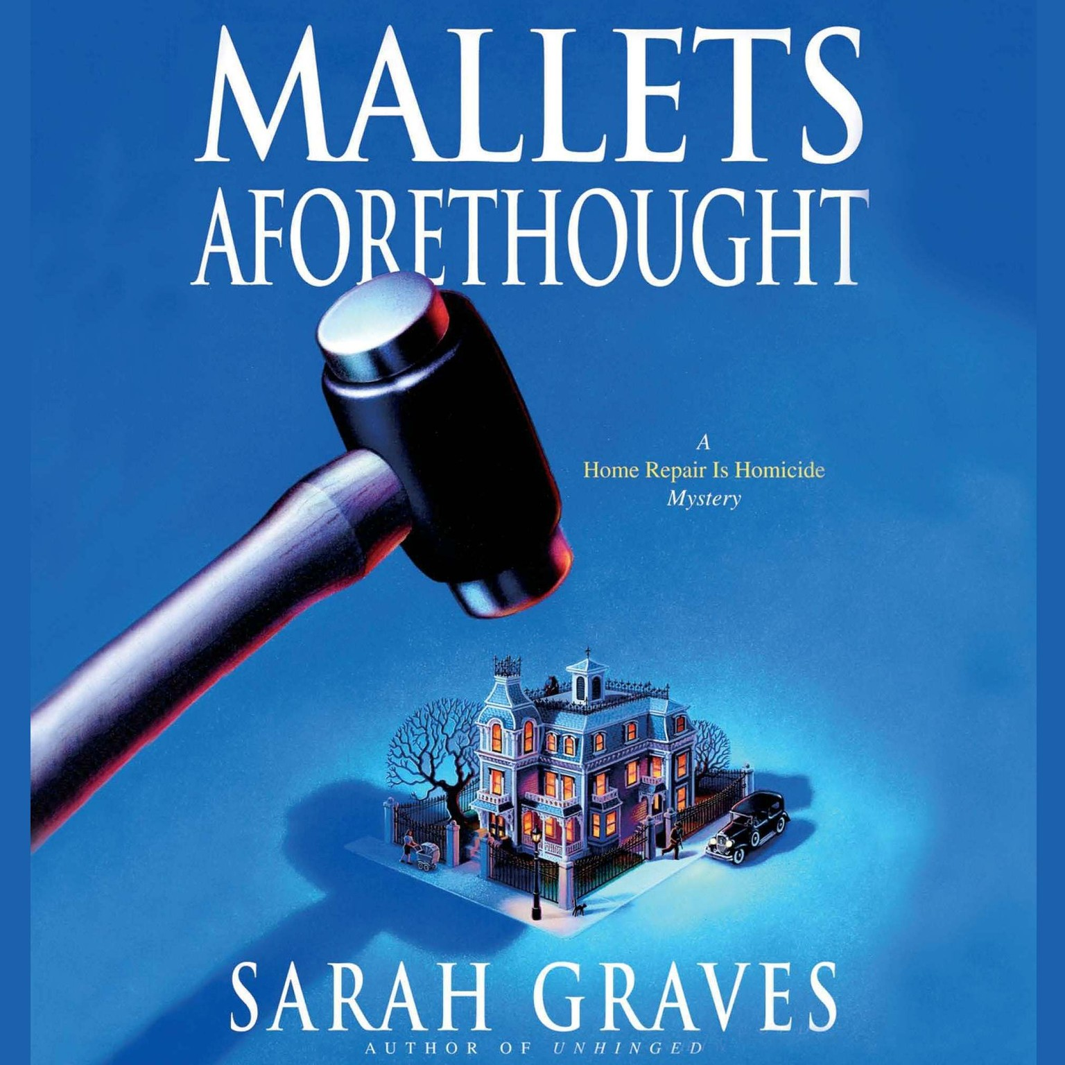 Printable Mallets Aforethought Audiobook Cover Art