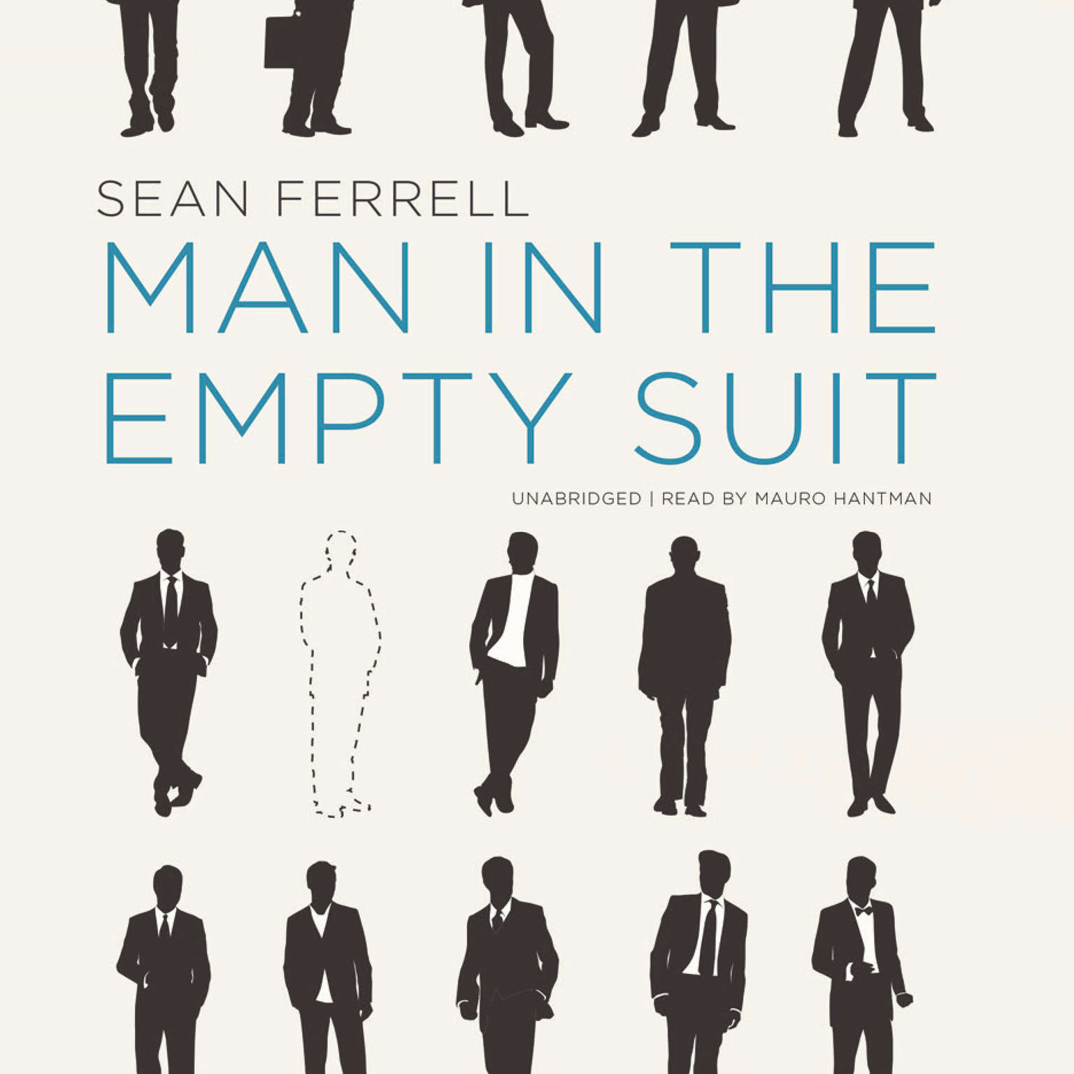 Printable Man in the Empty Suit Audiobook Cover Art