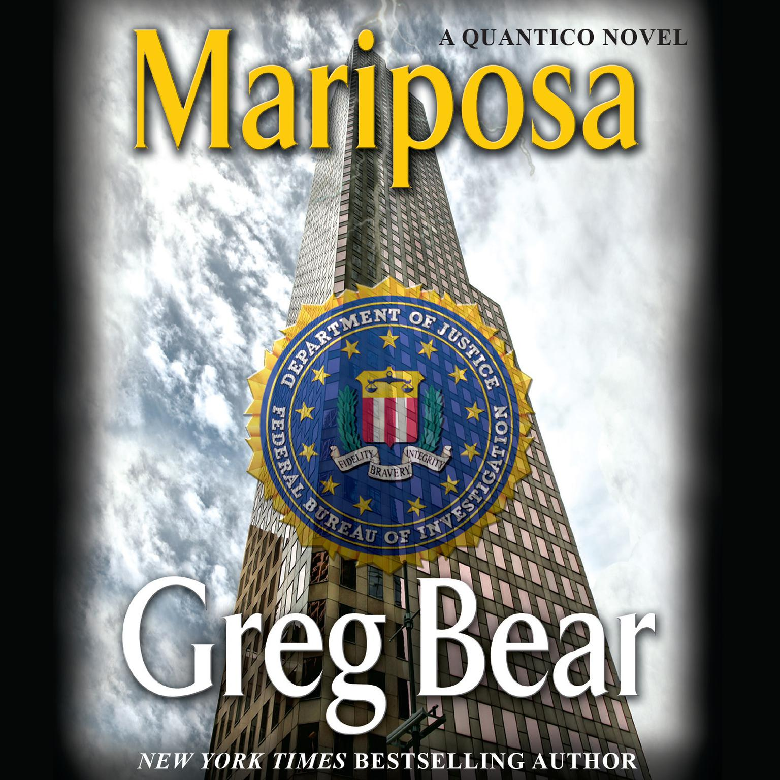 Printable Mariposa Audiobook Cover Art