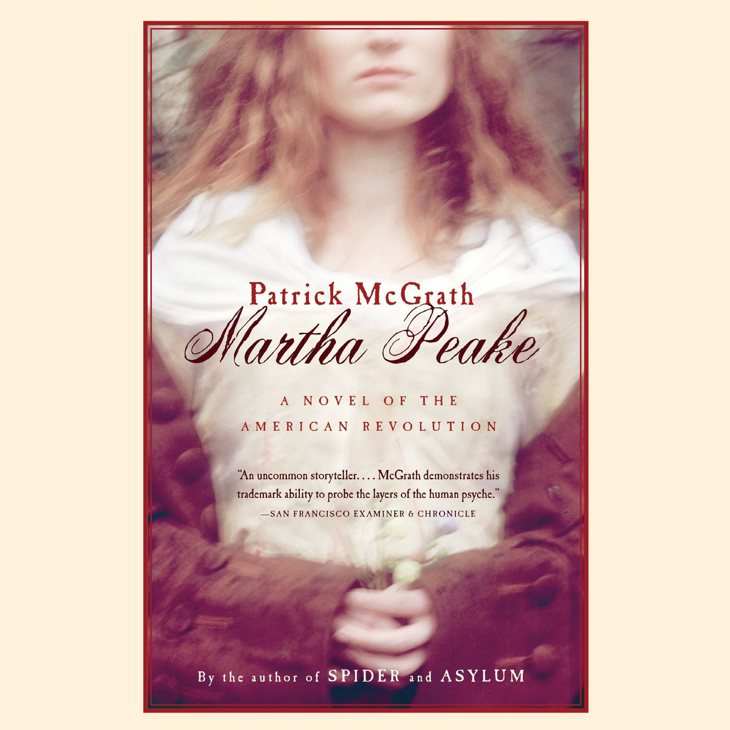 Printable Martha Peake: A Novel of the American Revolution Audiobook Cover Art
