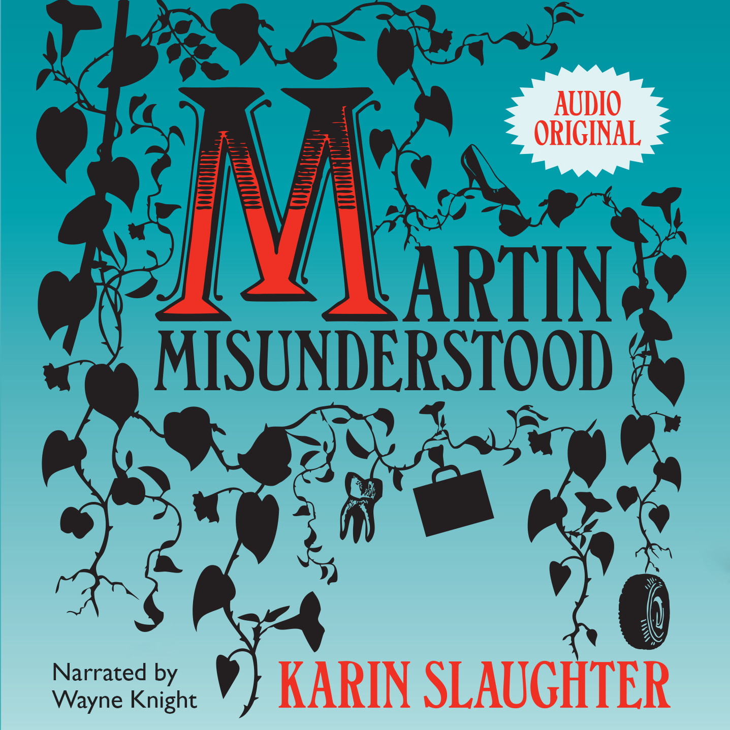Printable Martin Misunderstood Audiobook Cover Art