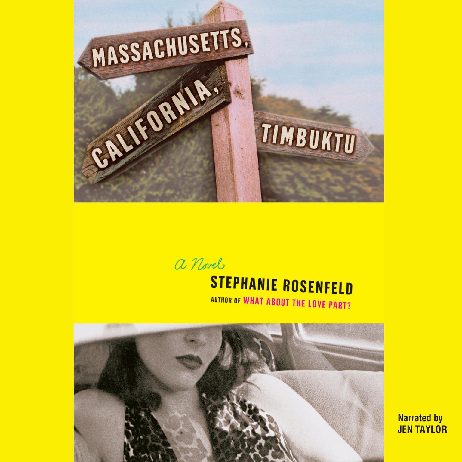 Printable Massachusetts, California, Timbuktu Audiobook Cover Art