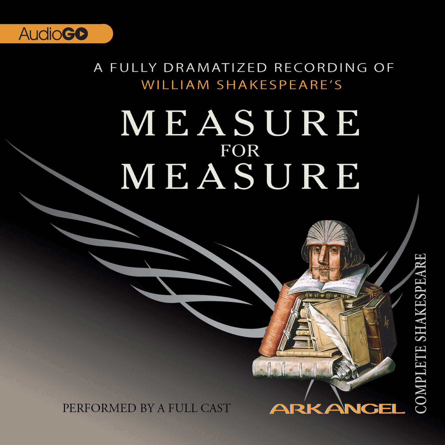 Printable Measure for Measure Audiobook Cover Art