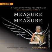 Measure for Measure Audiobook, by William Shakespeare