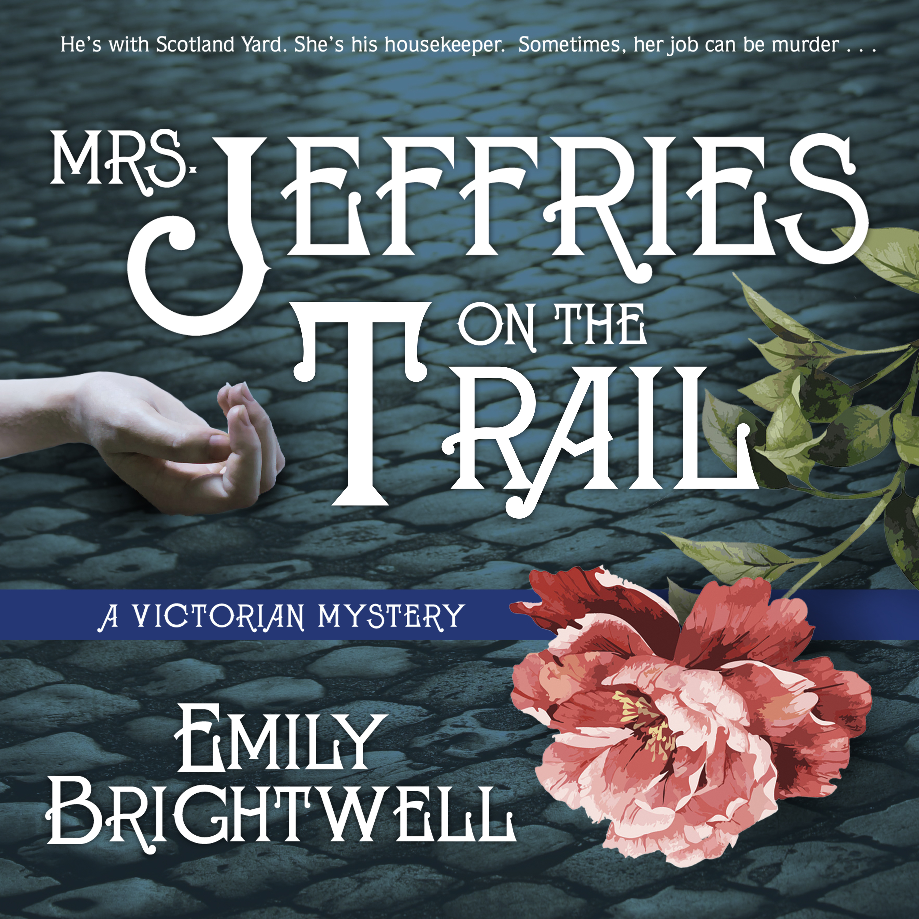 Printable Mrs. Jeffries on the Trail Audiobook Cover Art