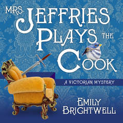 Mrs. Jeffries Plays the Cook Audiobook, by Emily Brightwell