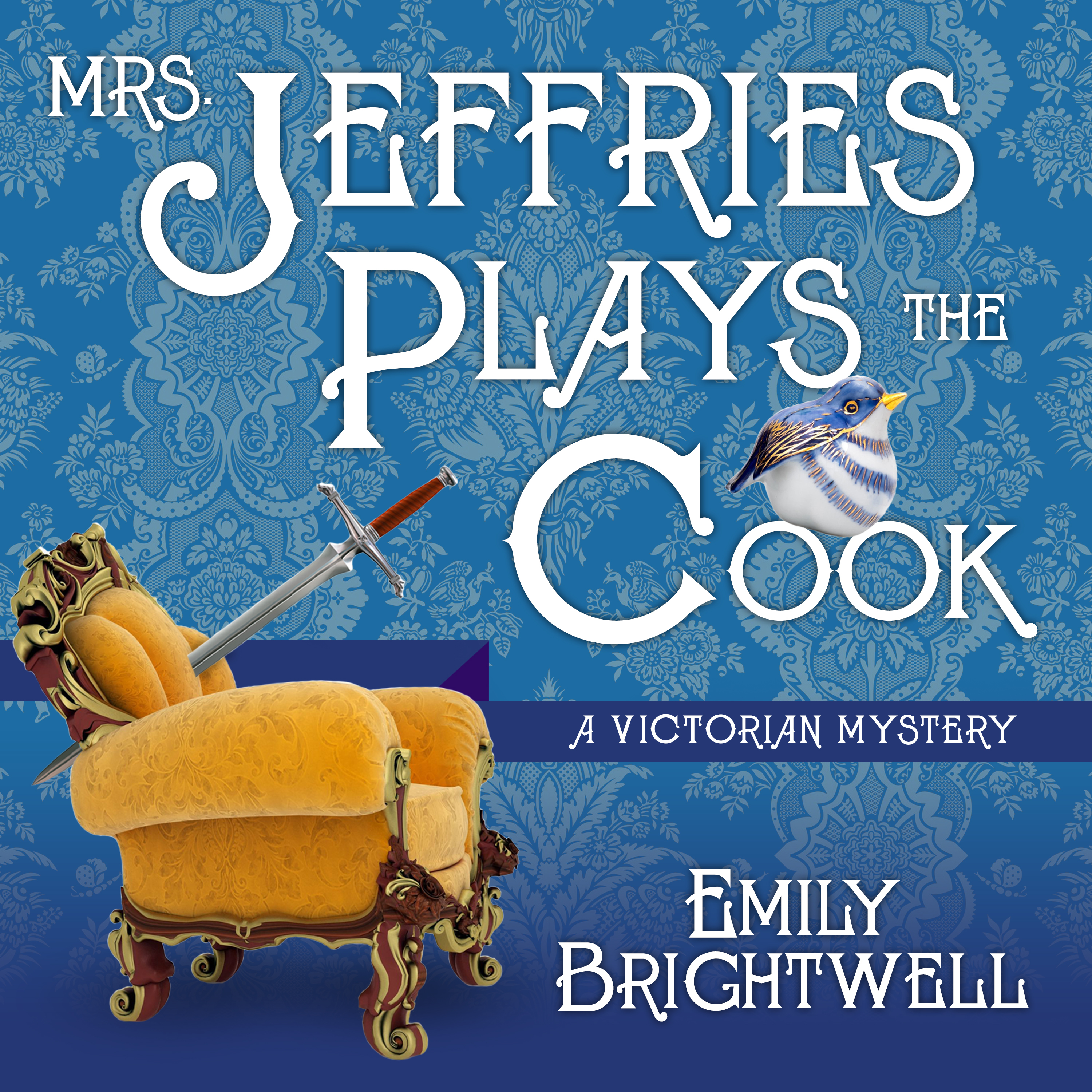 Printable Mrs. Jeffries Plays the Cook Audiobook Cover Art