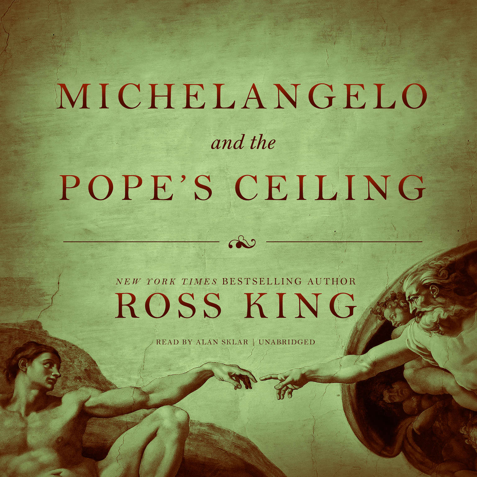 Printable Michelangelo and the Pope's Ceiling Audiobook Cover Art