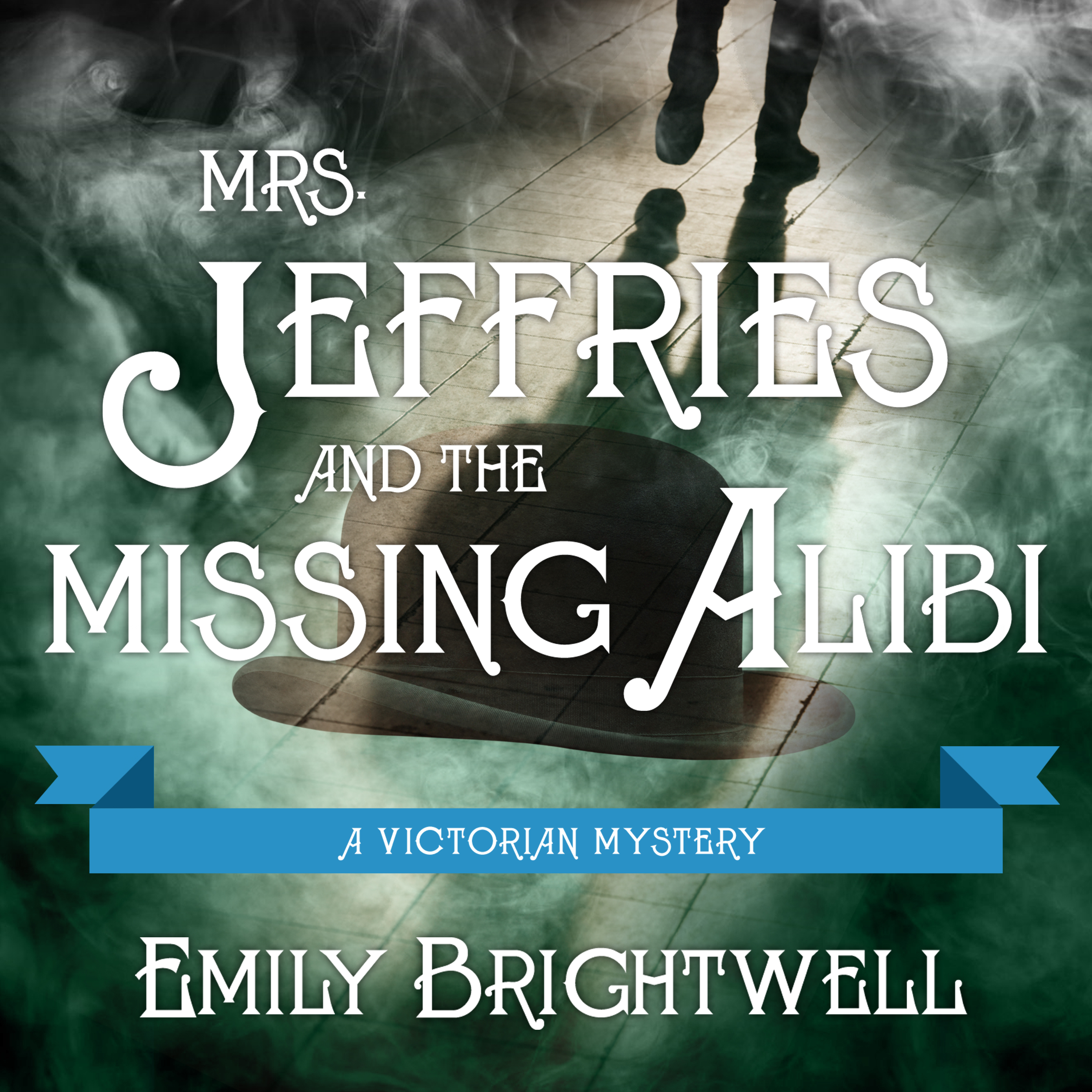Printable Mrs. Jeffries and the Missing Alibi Audiobook Cover Art
