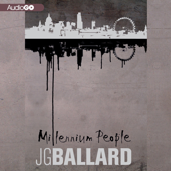 Printable Millennium People Audiobook Cover Art