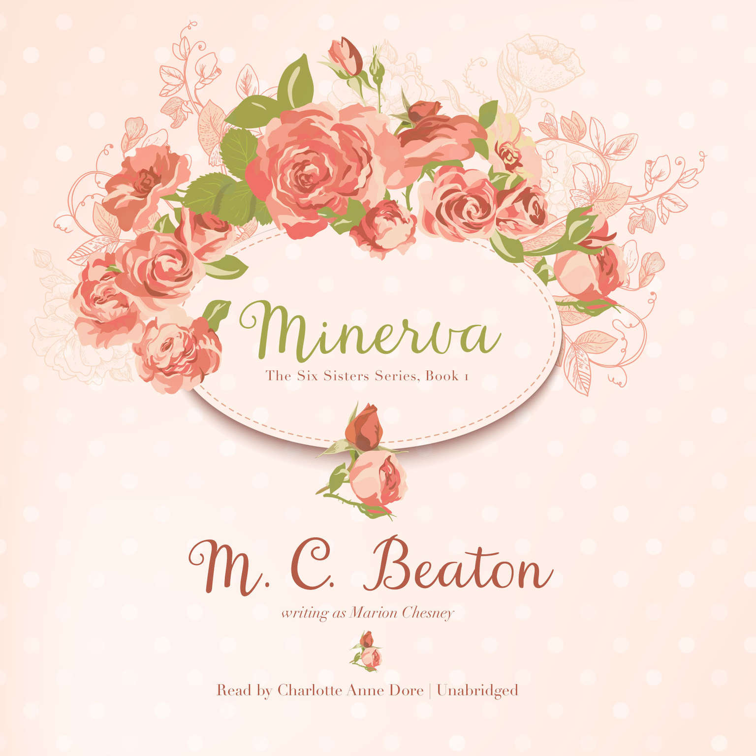 Printable Minerva Audiobook Cover Art