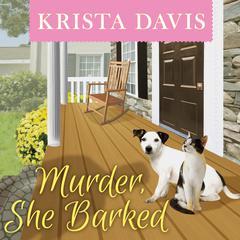 Murder, She Barked Audiobook, by Krista Davis