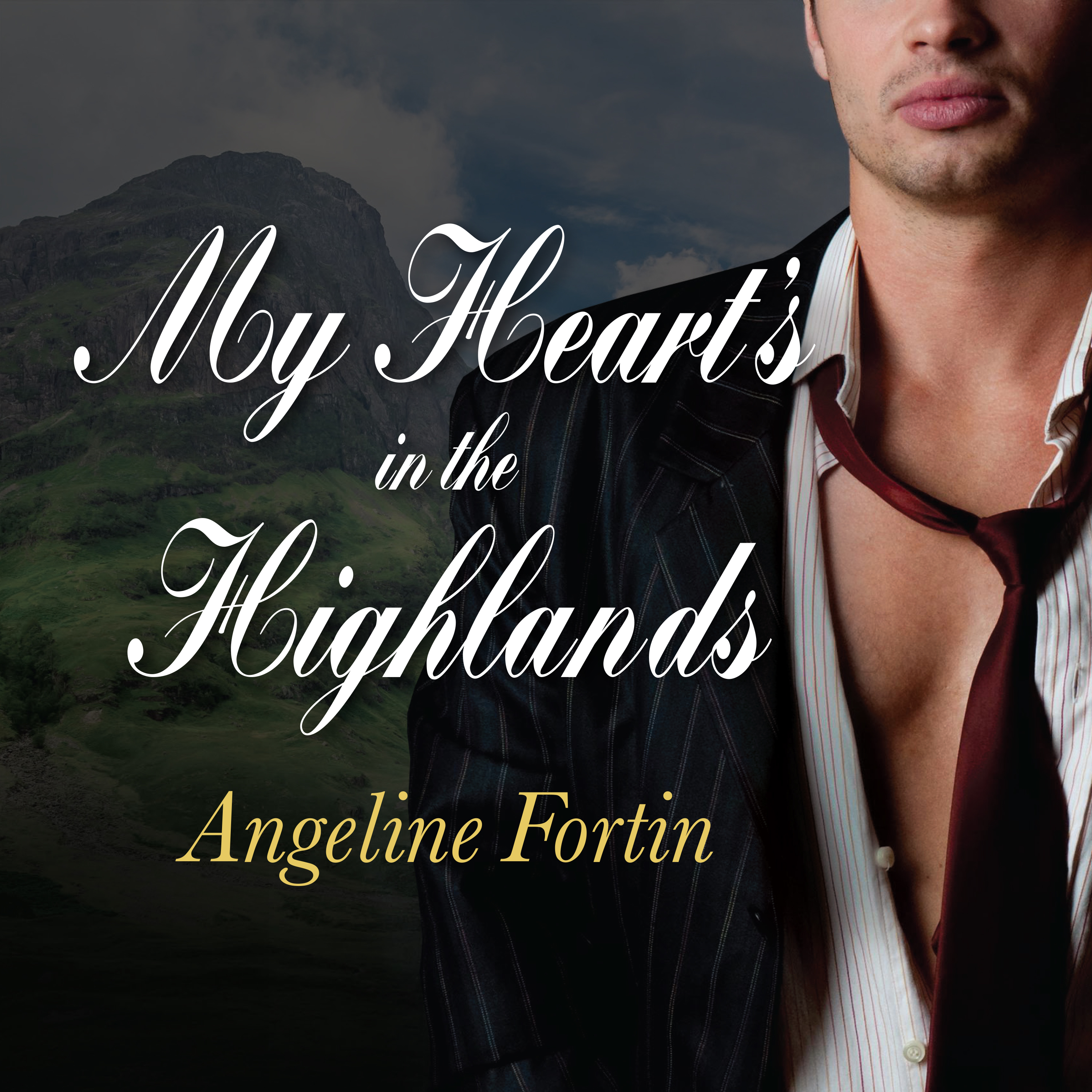 Printable My Heart's in the Highlands Audiobook Cover Art