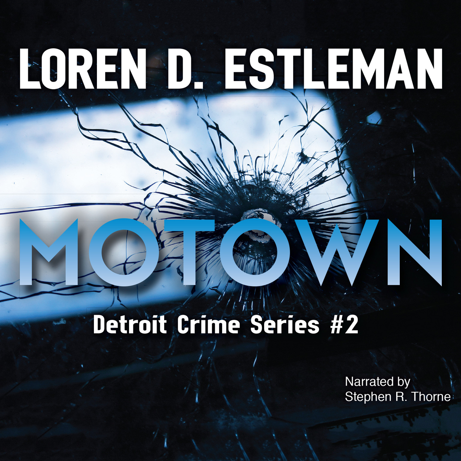 Printable Motown Audiobook Cover Art