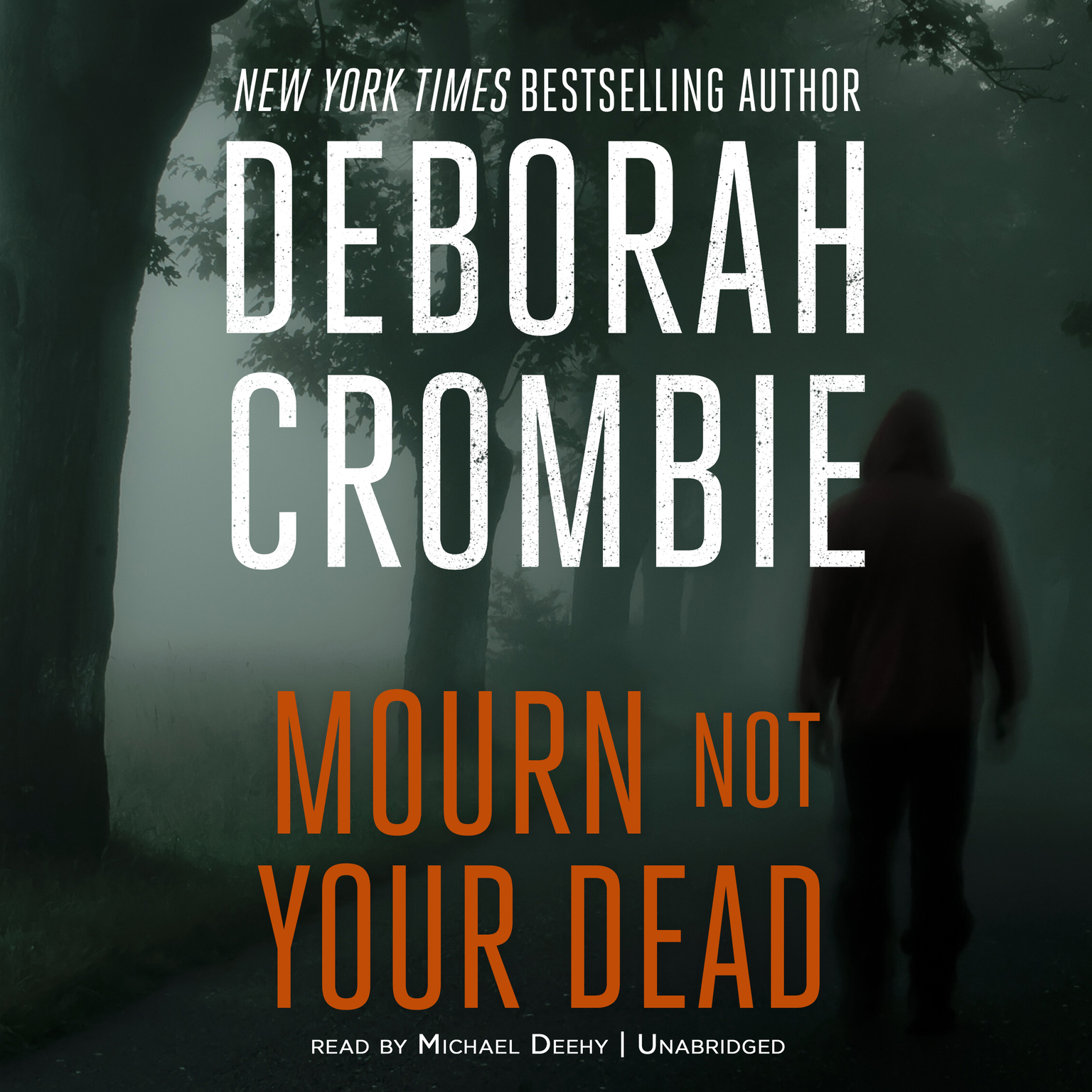 Printable Mourn Not Your Dead Audiobook Cover Art
