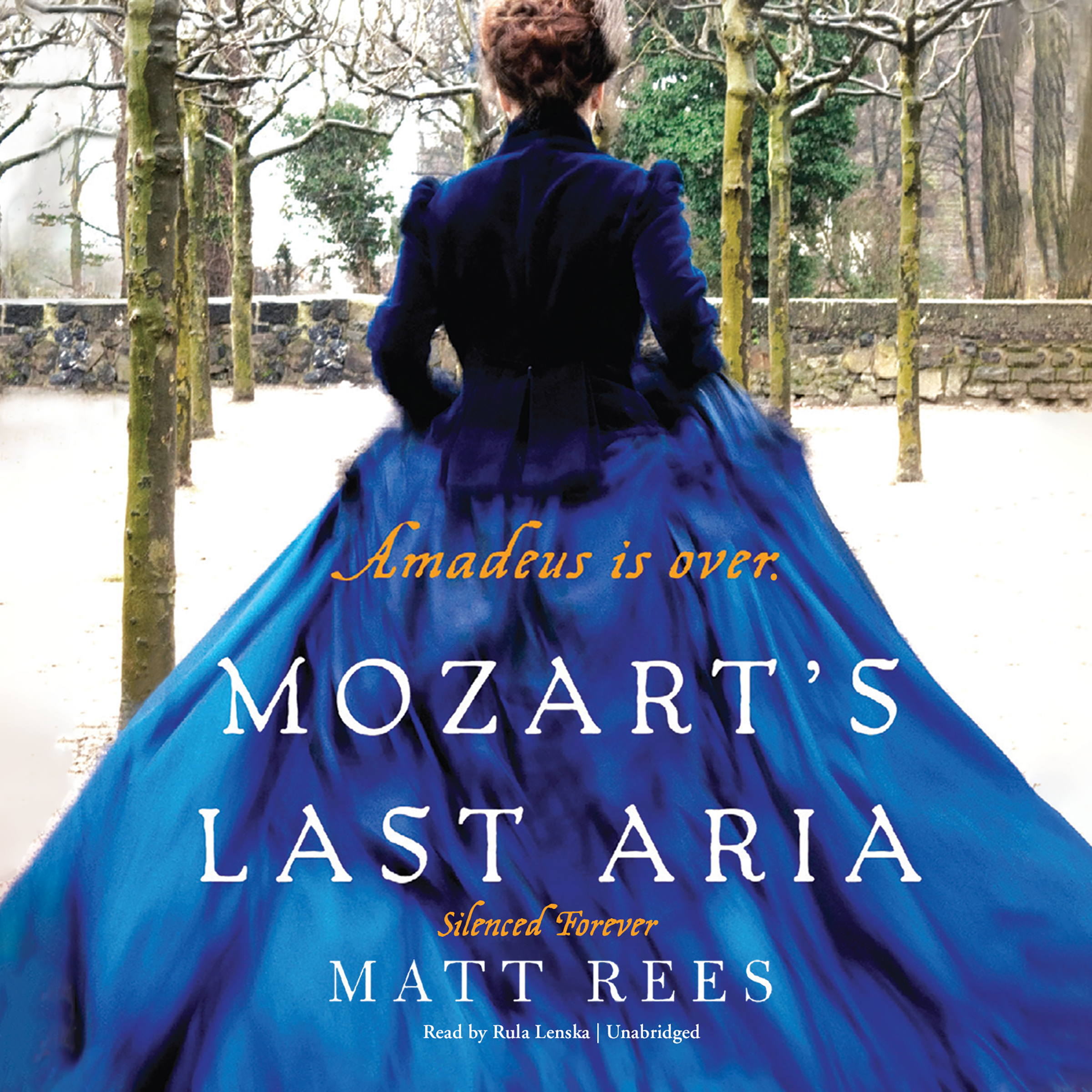 Printable Mozart's Last Aria: Silenced Forever Audiobook Cover Art