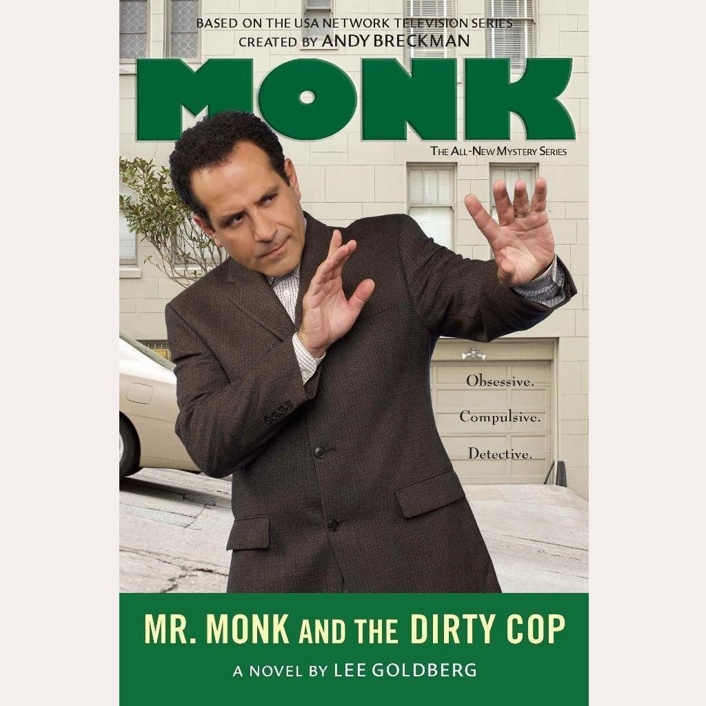 Printable Mr. Monk and the Dirty Cop Audiobook Cover Art