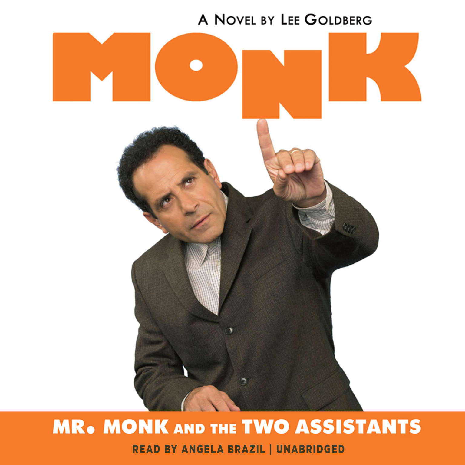 Printable Mr. Monk and the Two Assistants Audiobook Cover Art