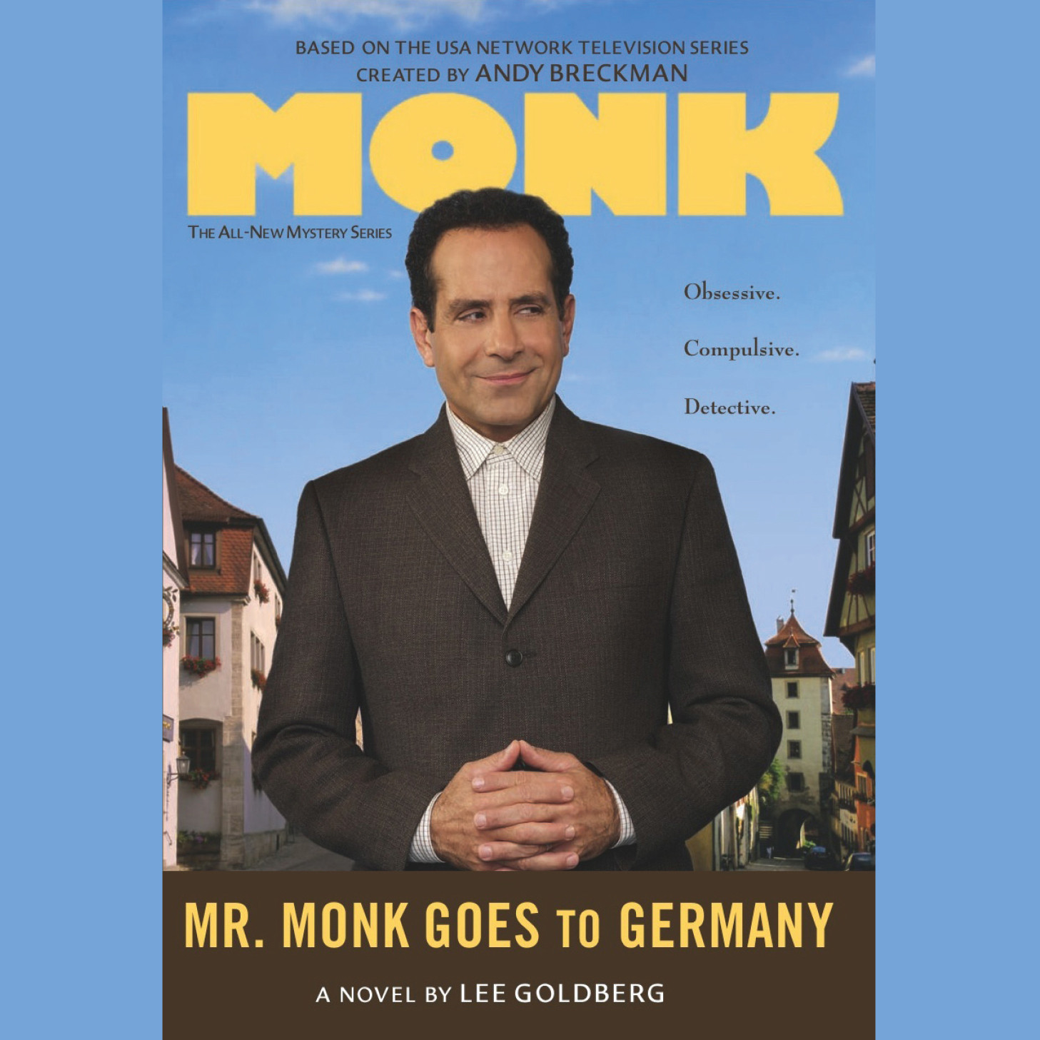Printable Mr. Monk Goes to Germany Audiobook Cover Art