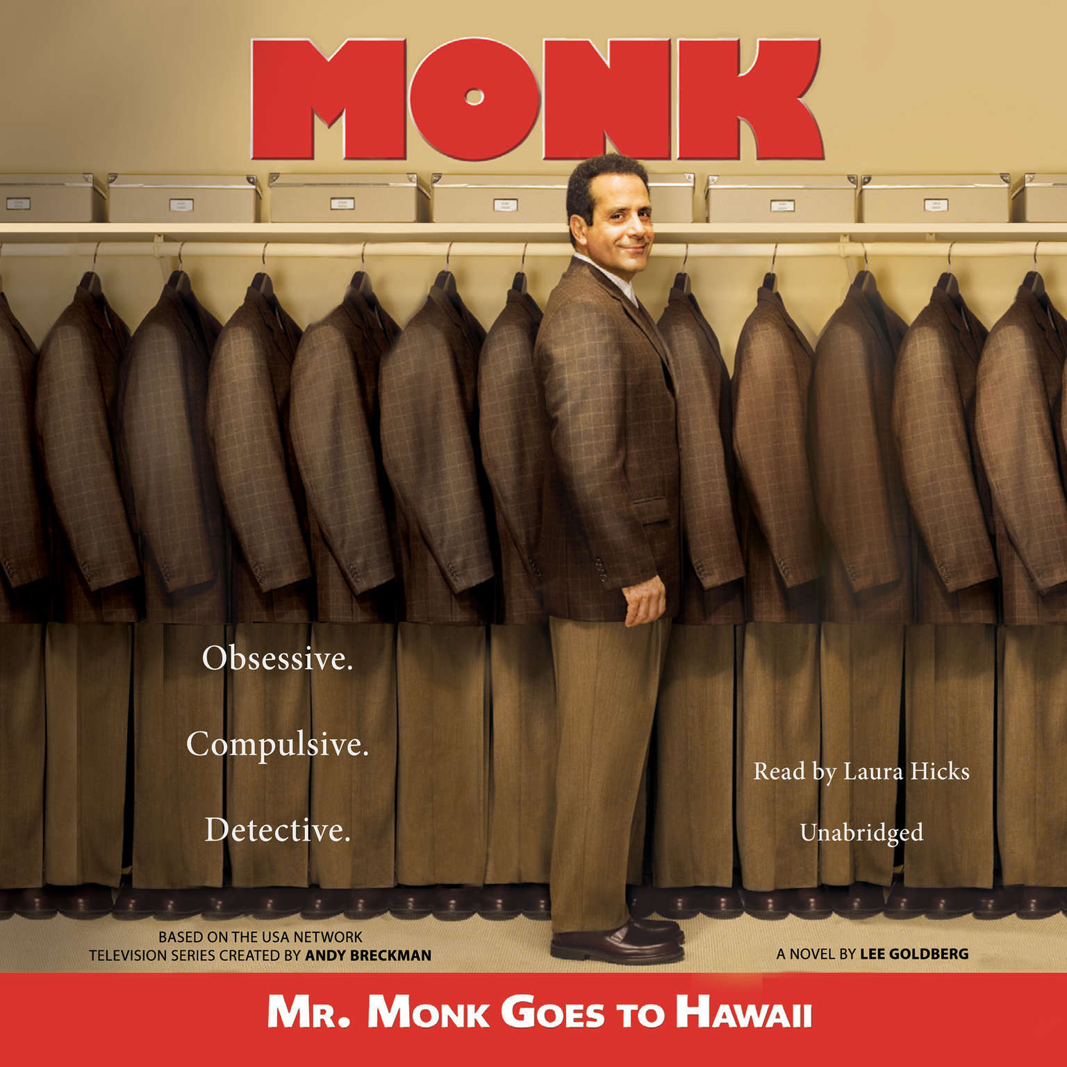 Printable Mr. Monk Goes to Hawaii: A Monk Mystery Audiobook Cover Art