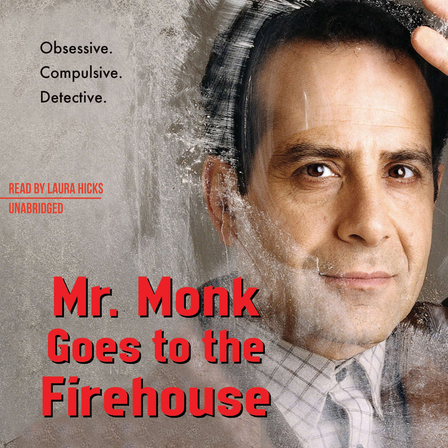 Printable Mr. Monk Goes to the Firehouse: A Monk Mystery Audiobook Cover Art