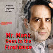 Mr. Monk Goes to the Firehouse: A Monk Mystery Audiobook, by Lee Goldberg