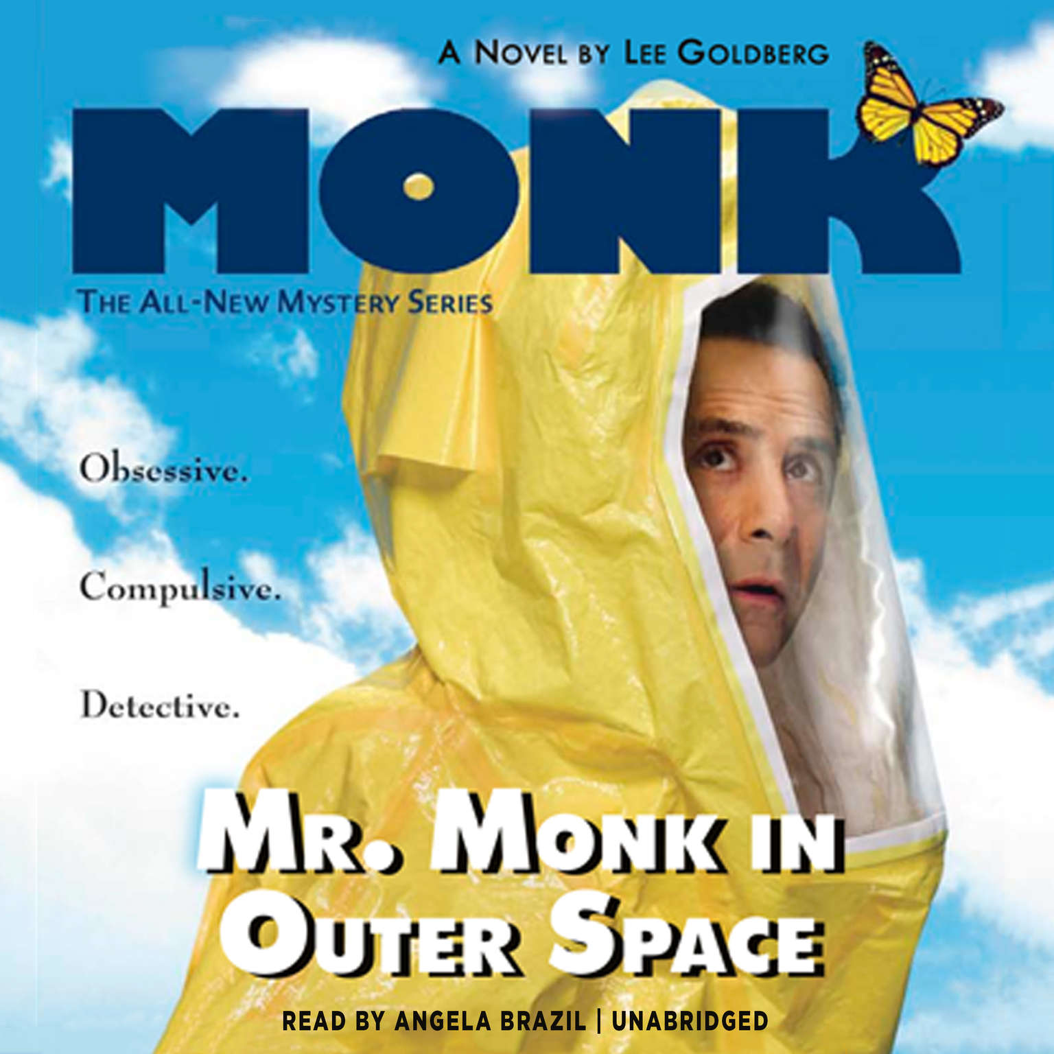 Printable Mr. Monk in Outer Space Audiobook Cover Art