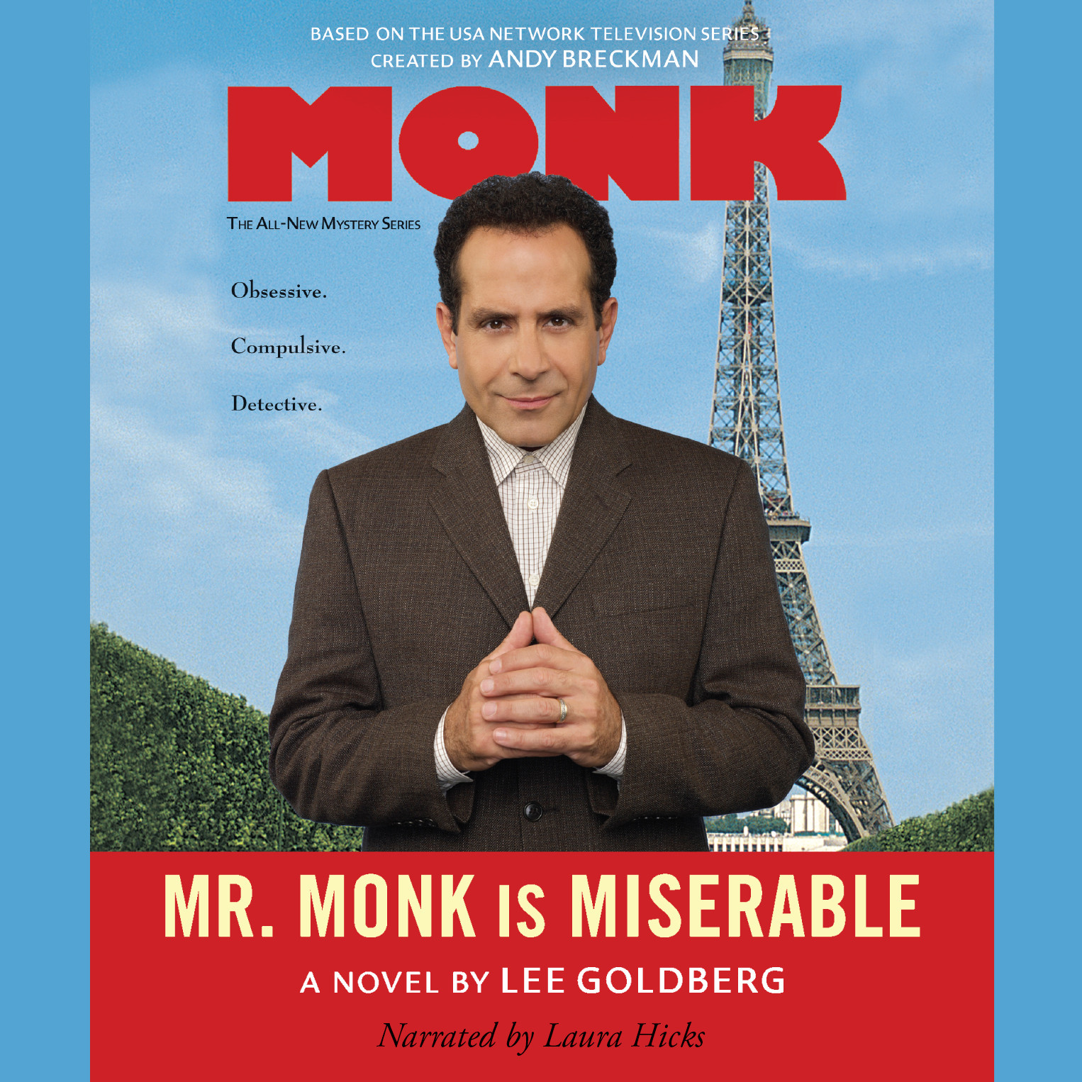 Printable Mr. Monk Is Miserable Audiobook Cover Art