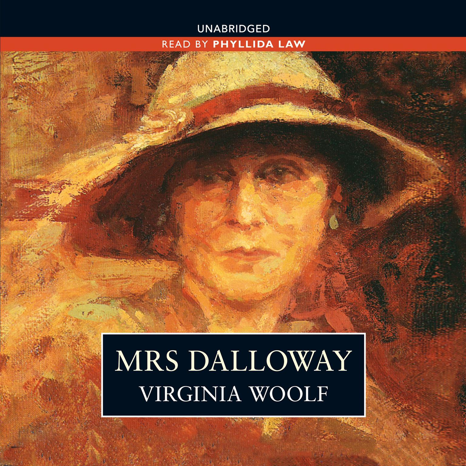 Printable Mrs. Dalloway Audiobook Cover Art