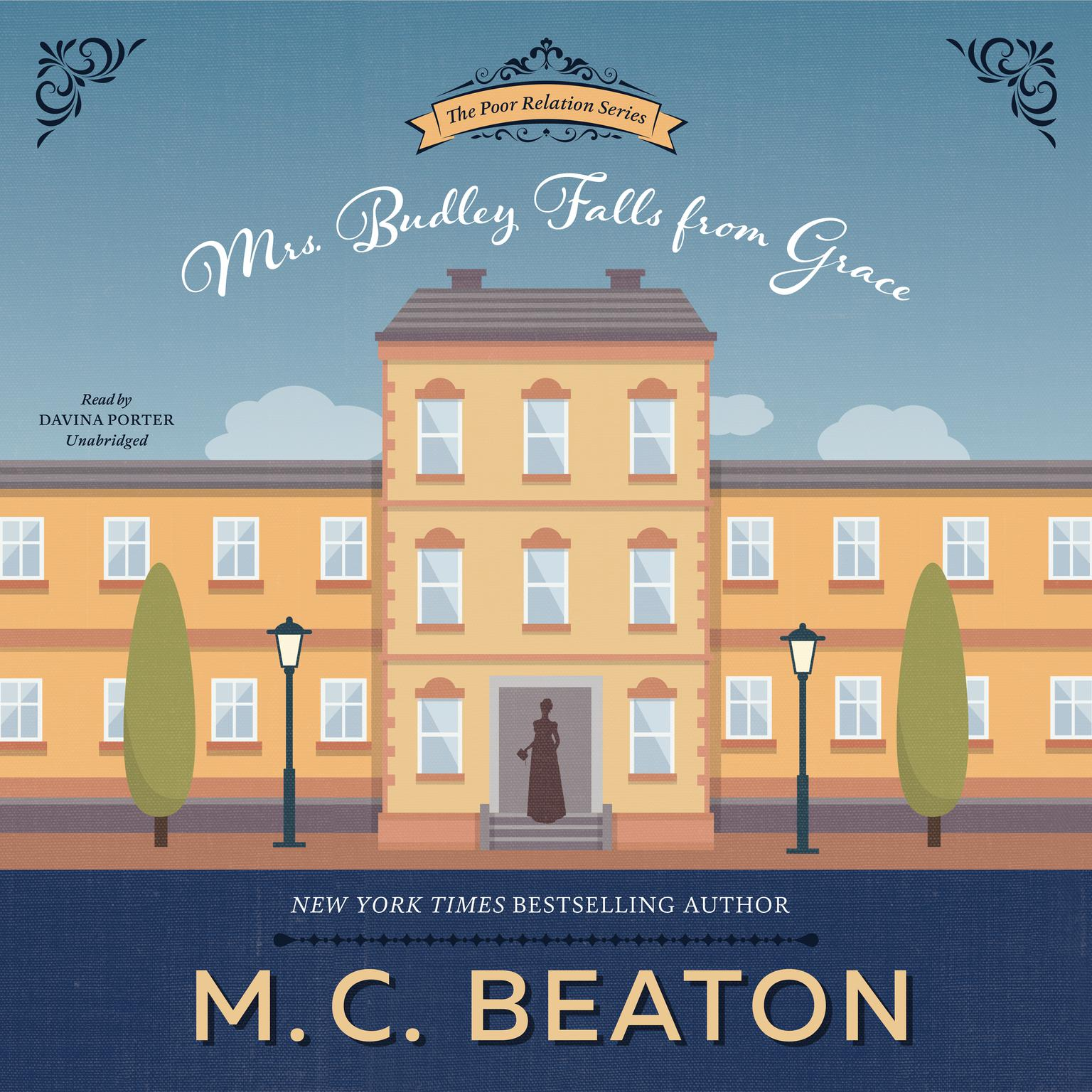 Mrs. Budley Falls from Grace Audiobook, by M. C. Beaton