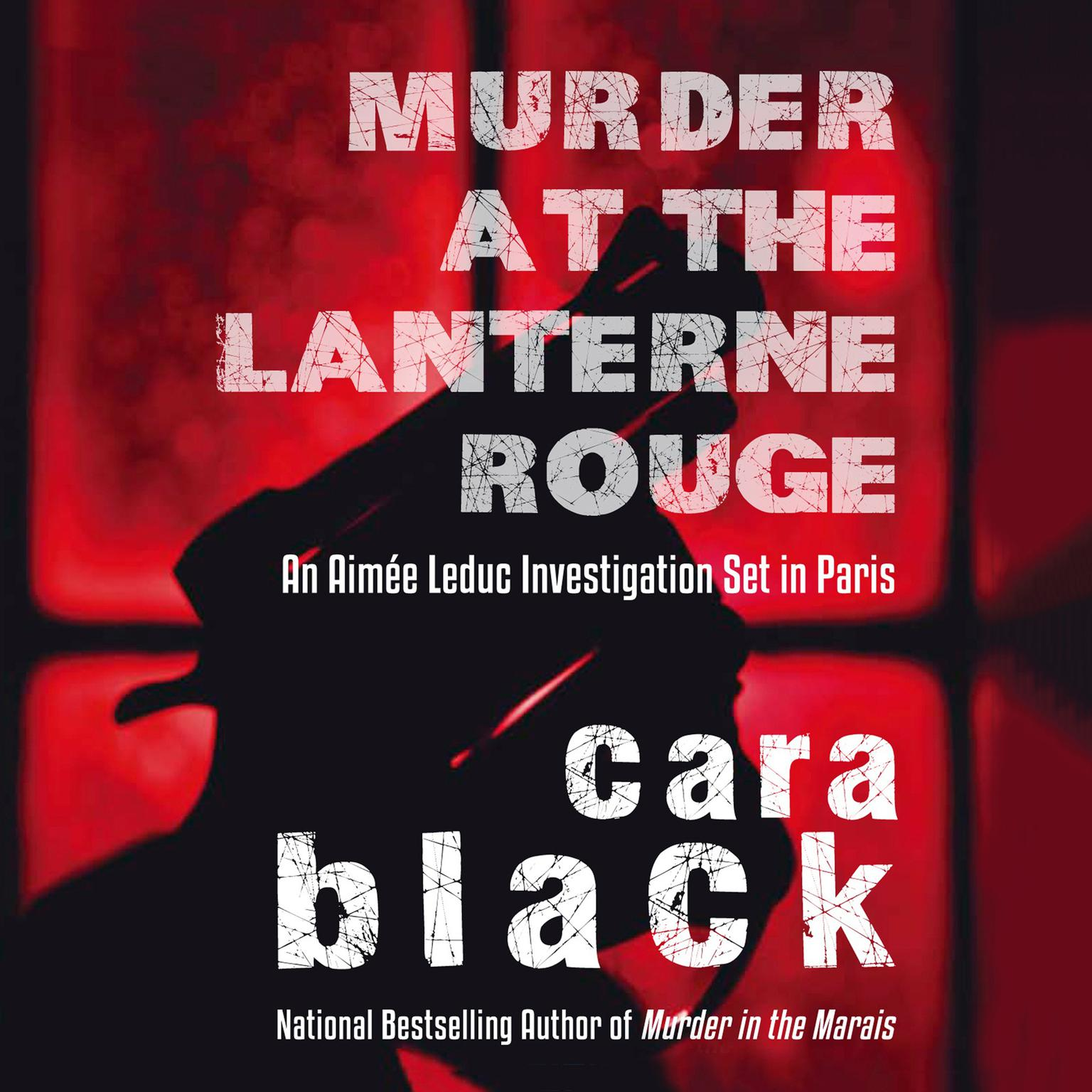 Printable Murder at the Lanterne Rouge Audiobook Cover Art