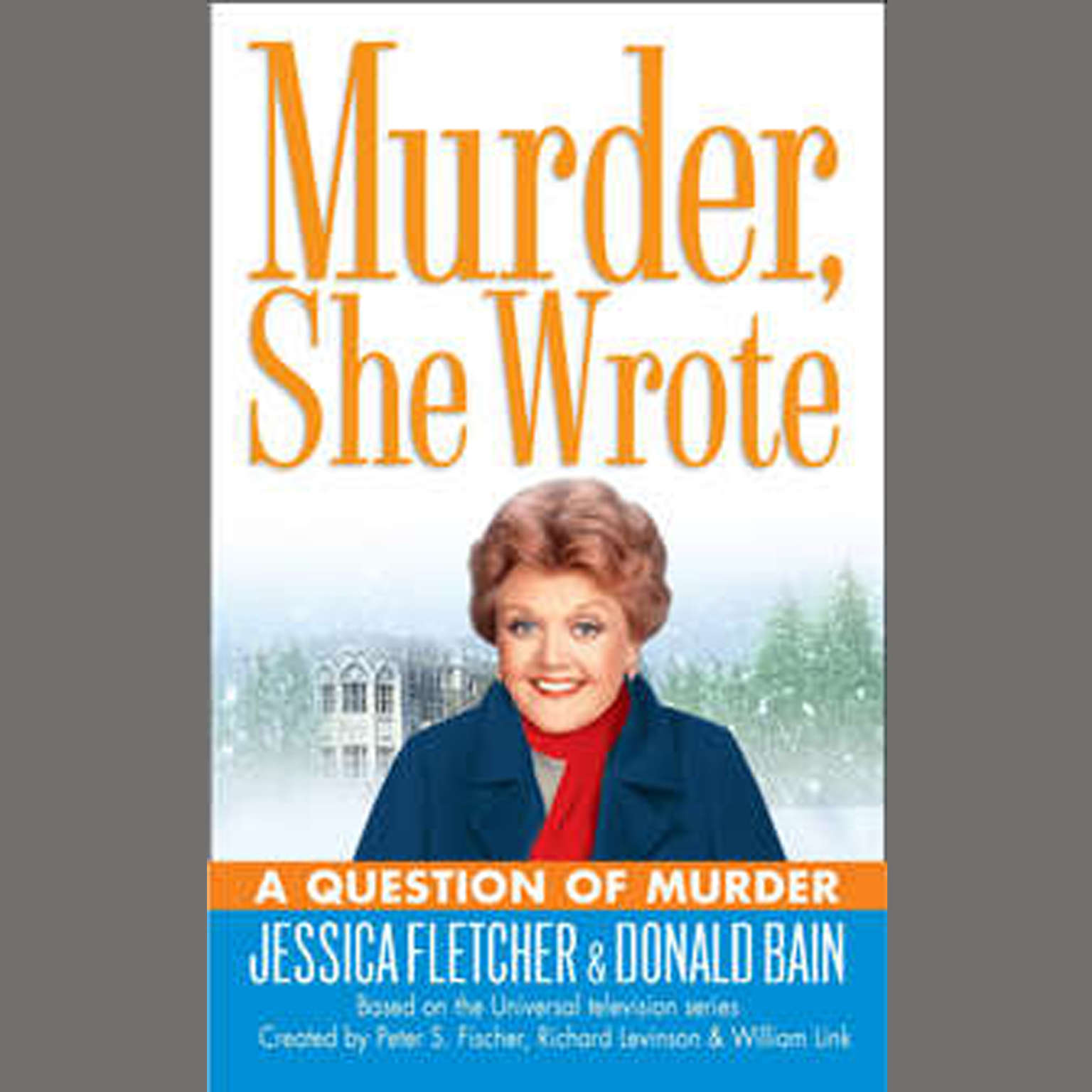 Printable A Question of Murder: A Murder, She Wrote Mystery Audiobook Cover Art