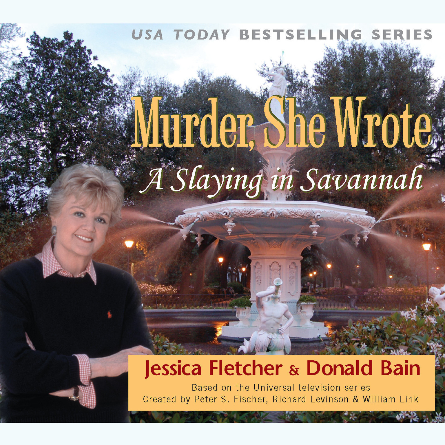 Printable A Slaying in Savannah: A Murder, She Wrote Mystery Audiobook Cover Art