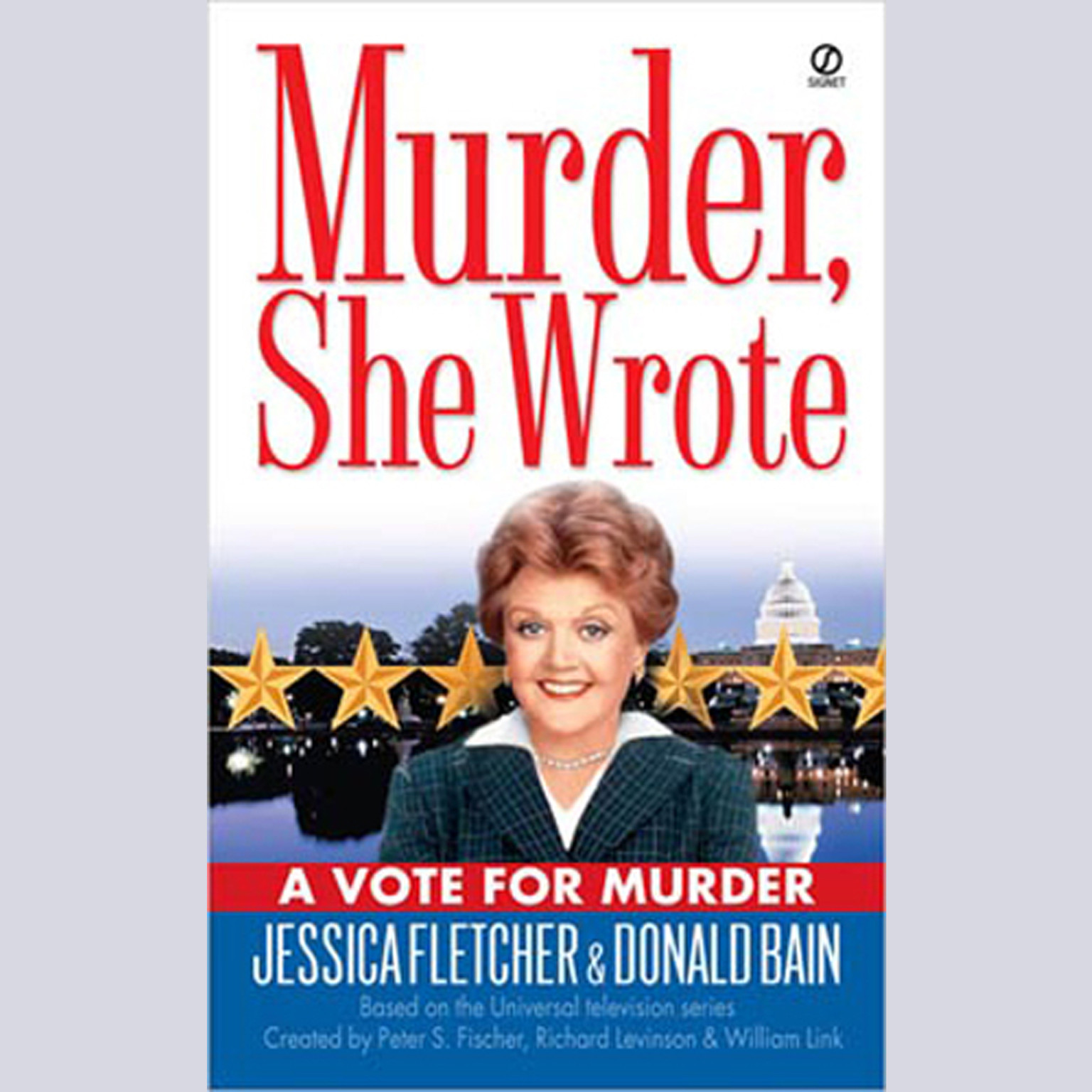 Printable A Vote for Murder: A Murder, She Wrote Mystery Audiobook Cover Art