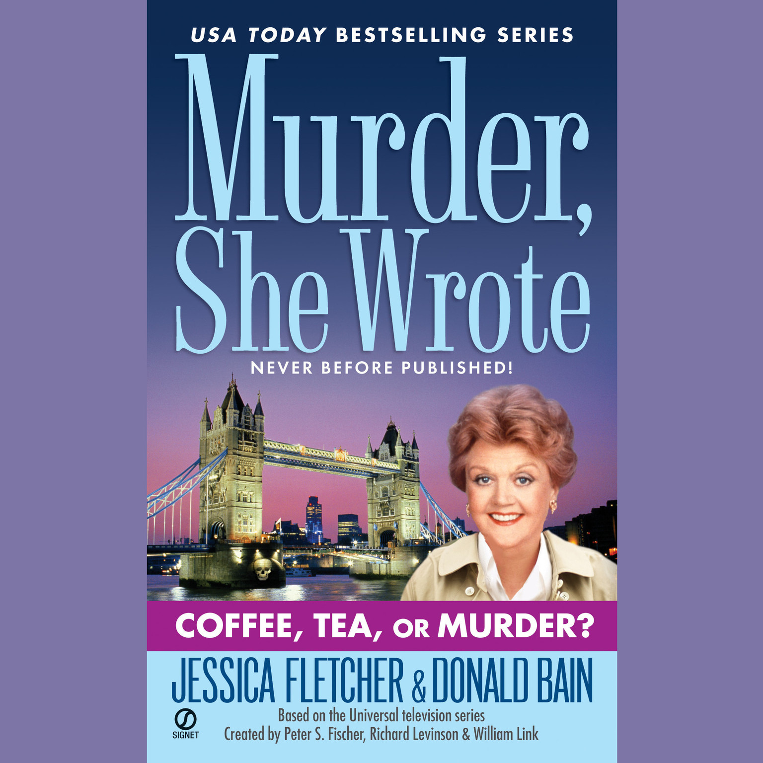 Printable Coffee, Tea, or Murder?: A Murder, She Wrote Mystery Audiobook Cover Art