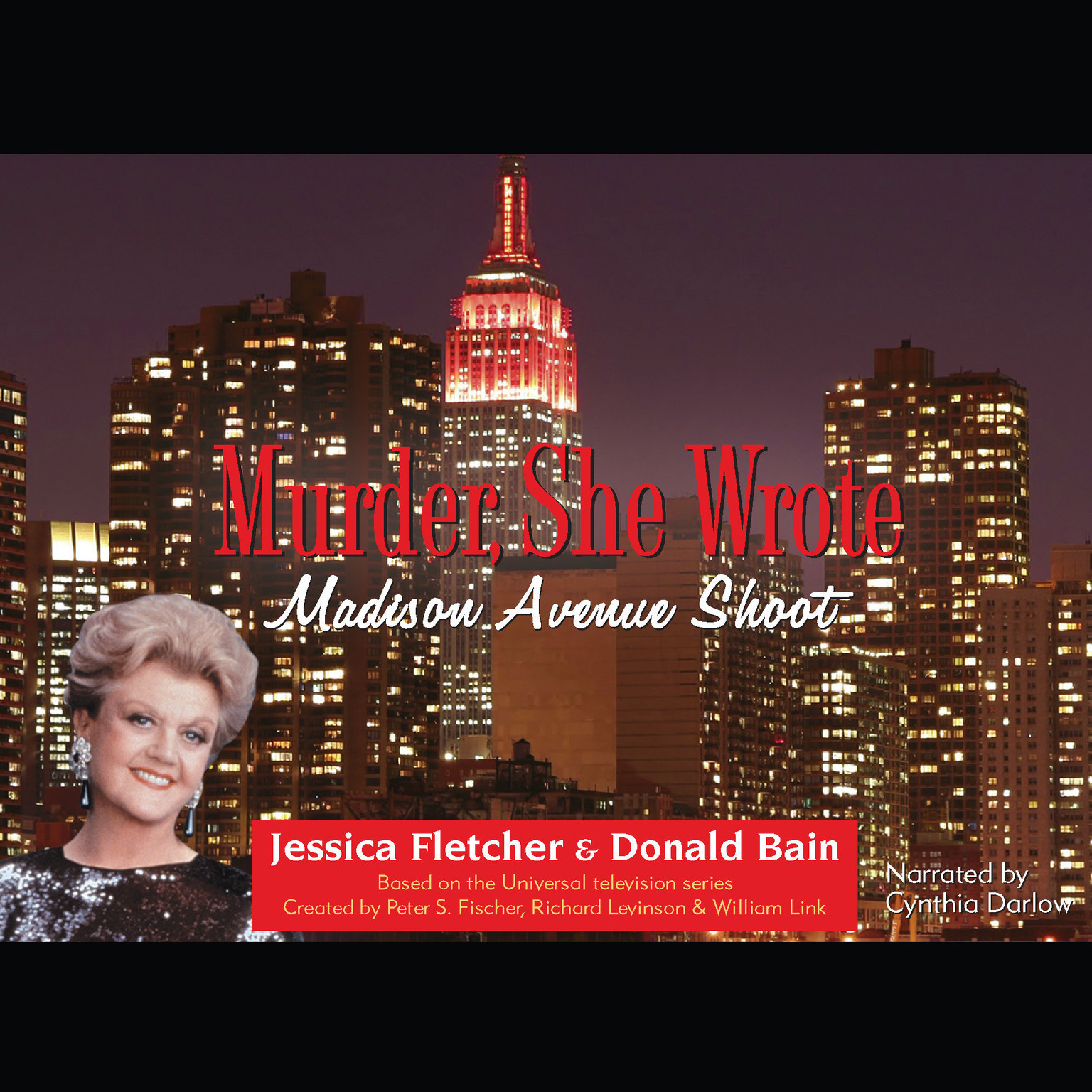 Printable Madison Avenue Shoot: A Murder, She Wrote Mystery Audiobook Cover Art