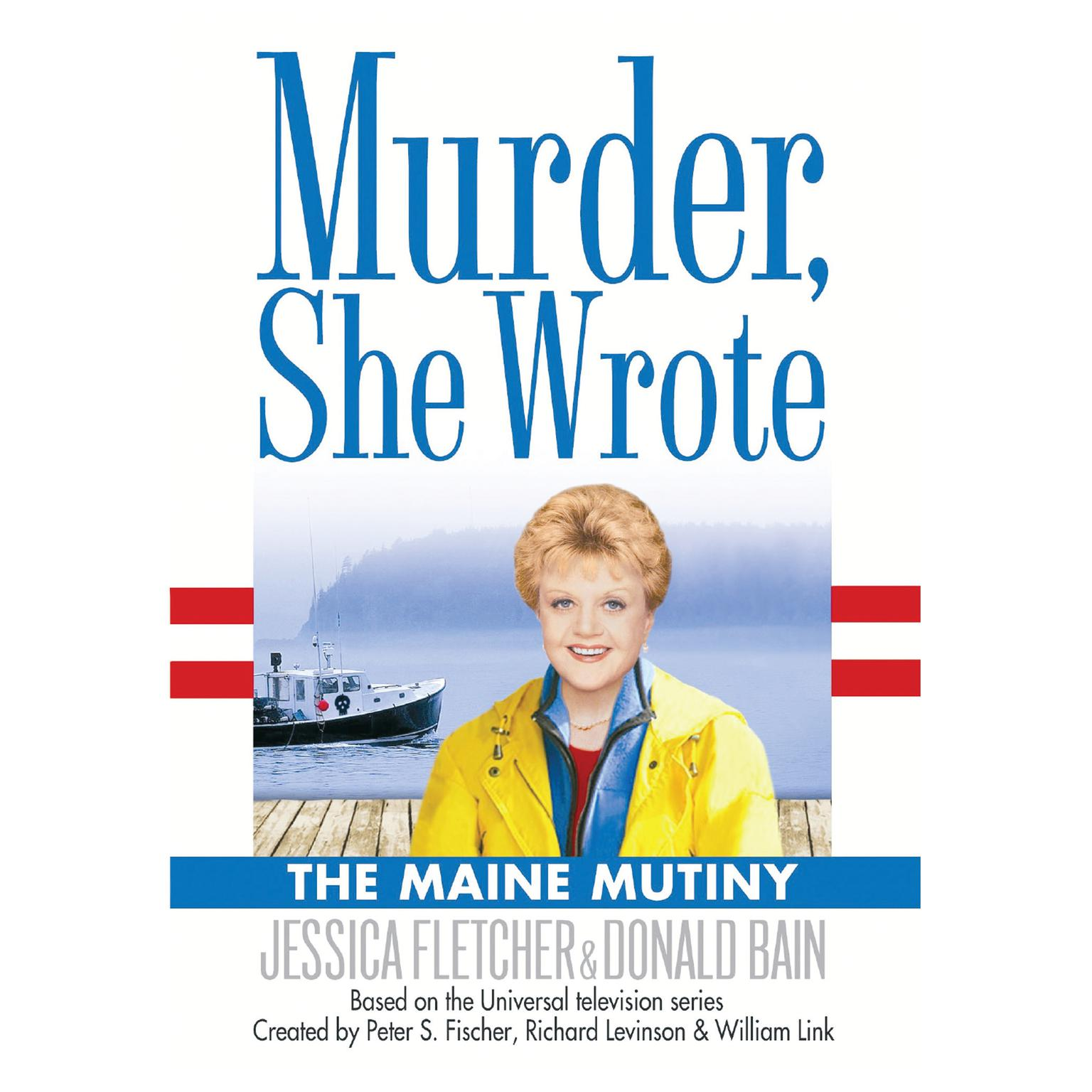 Printable The Maine Mutiny: A Murder, She Wrote Mystery Audiobook Cover Art