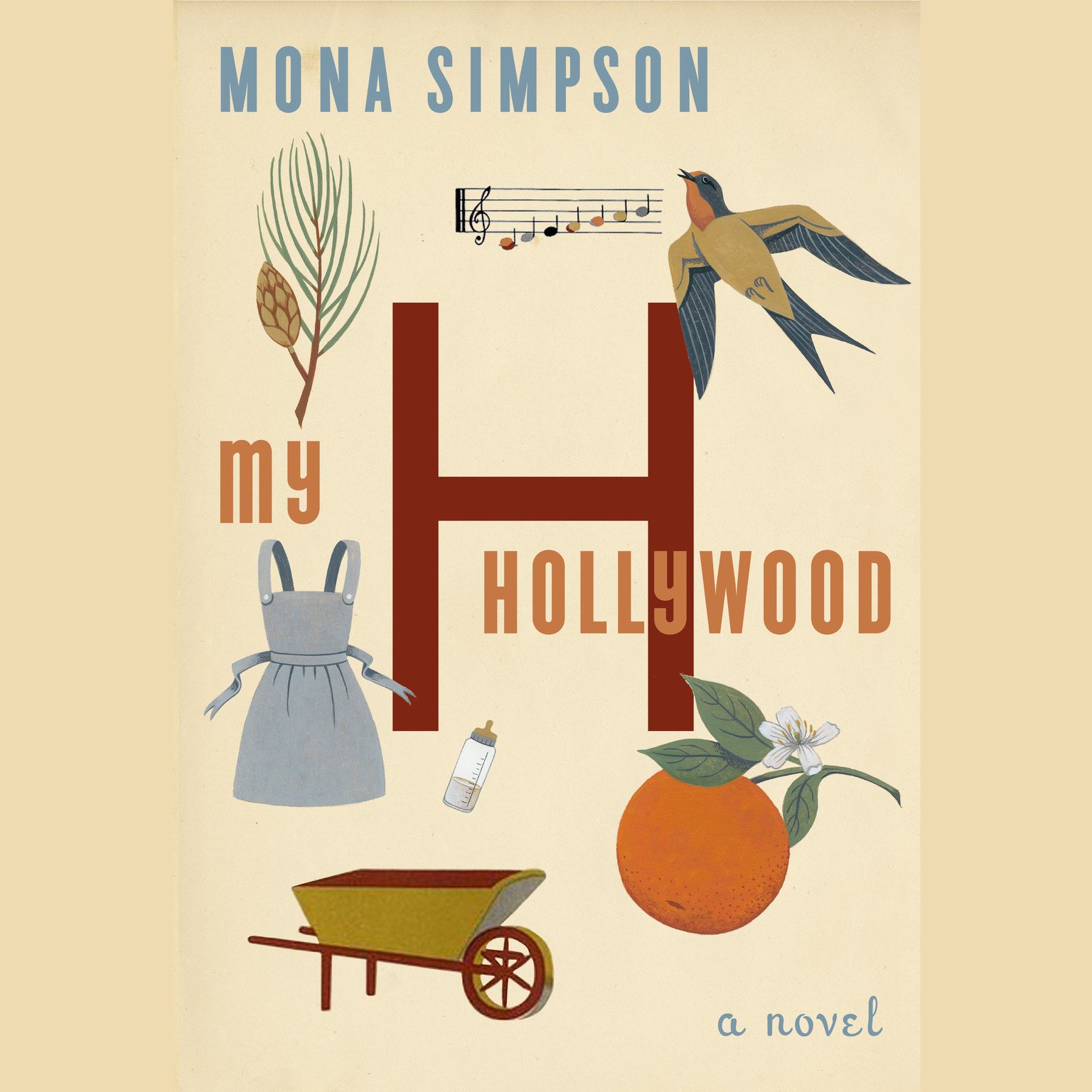 Printable My Hollywood Audiobook Cover Art