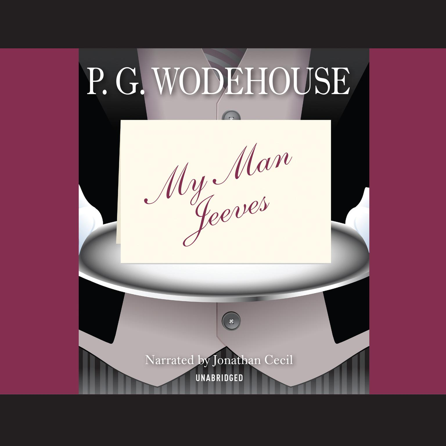 Printable My Man Jeeves Audiobook Cover Art