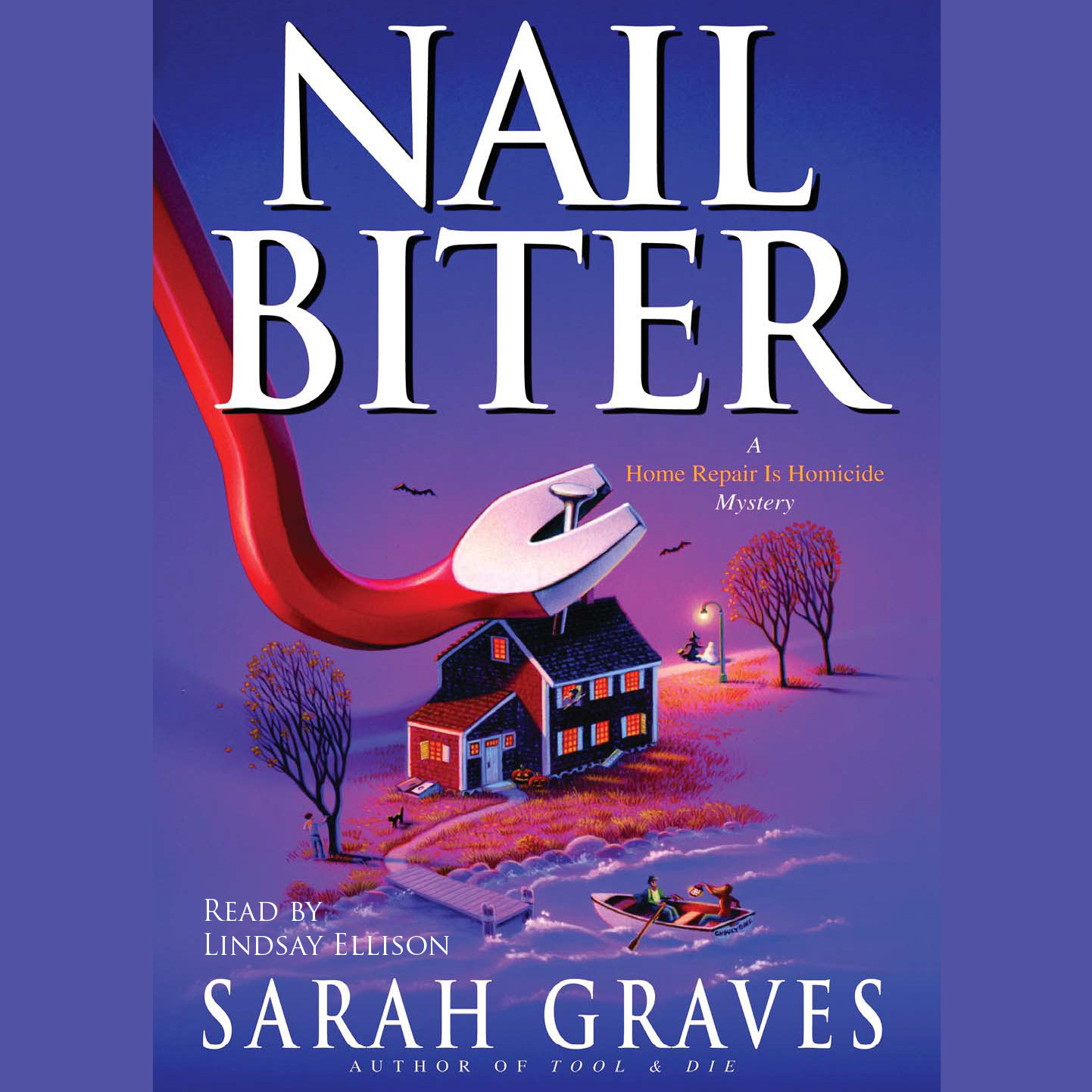 Printable Nail Biter Audiobook Cover Art