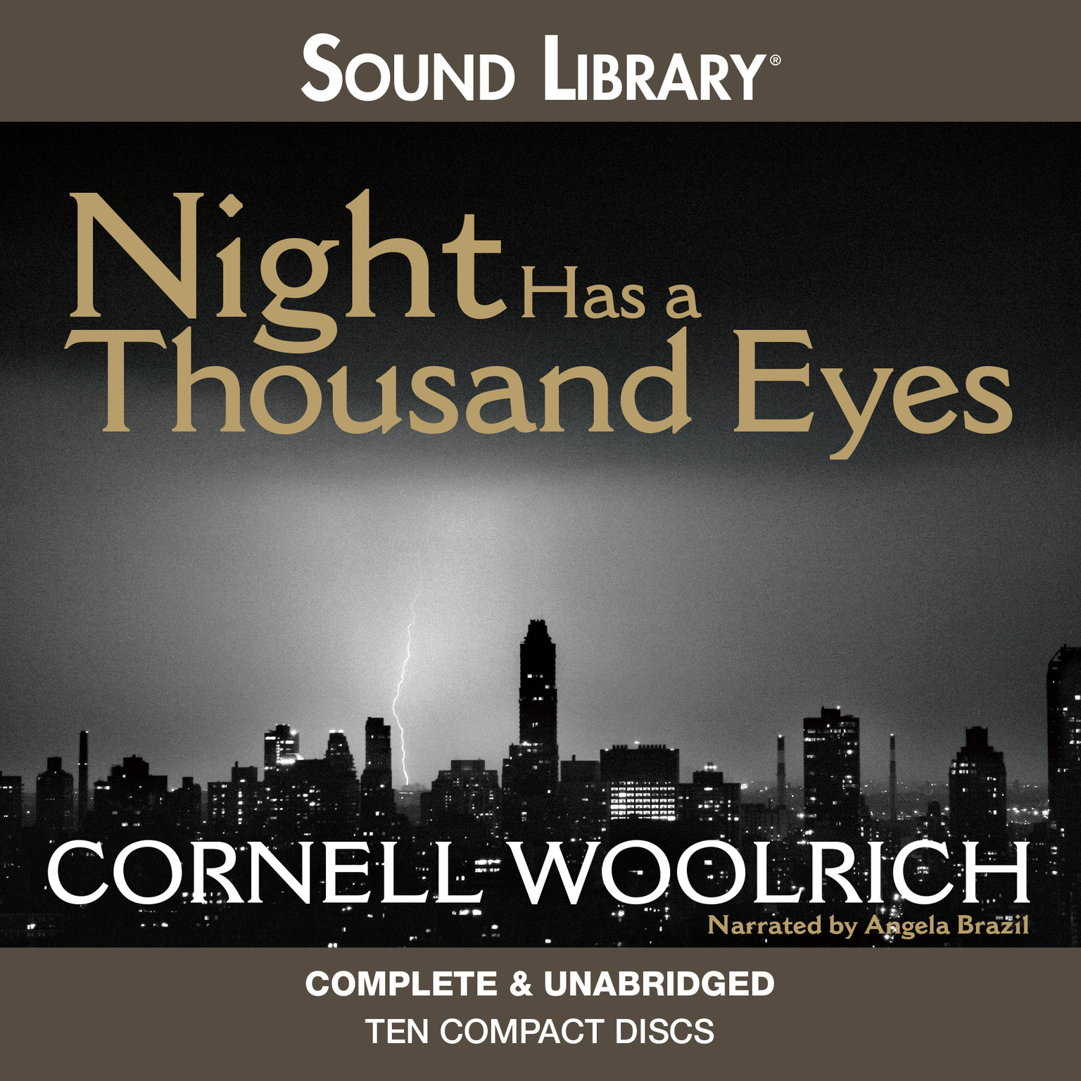 Printable Night Has a Thousand Eyes Audiobook Cover Art