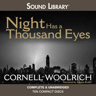 Night Has a Thousand Eyes Audiobook, by Cornell Woolrich