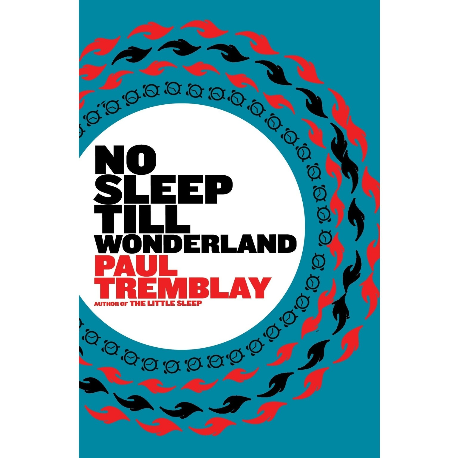 Printable No Sleep till Wonderland Audiobook Cover Art