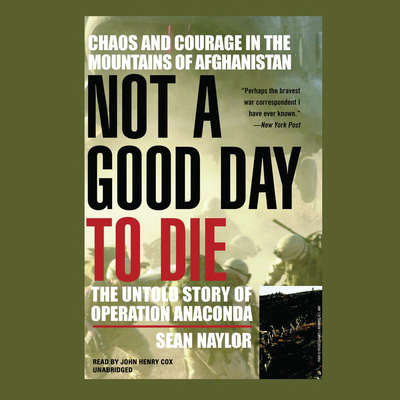 Not a Good Day to Die: The Untold Story of Operation Anaconda Audiobook, by