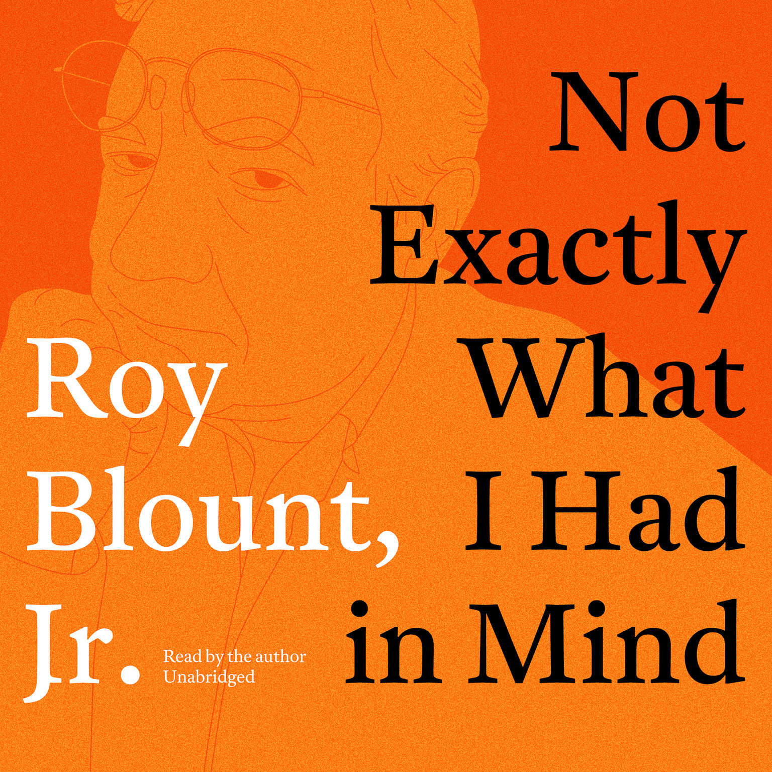 Printable Not Exactly What I Had in Mind Audiobook Cover Art