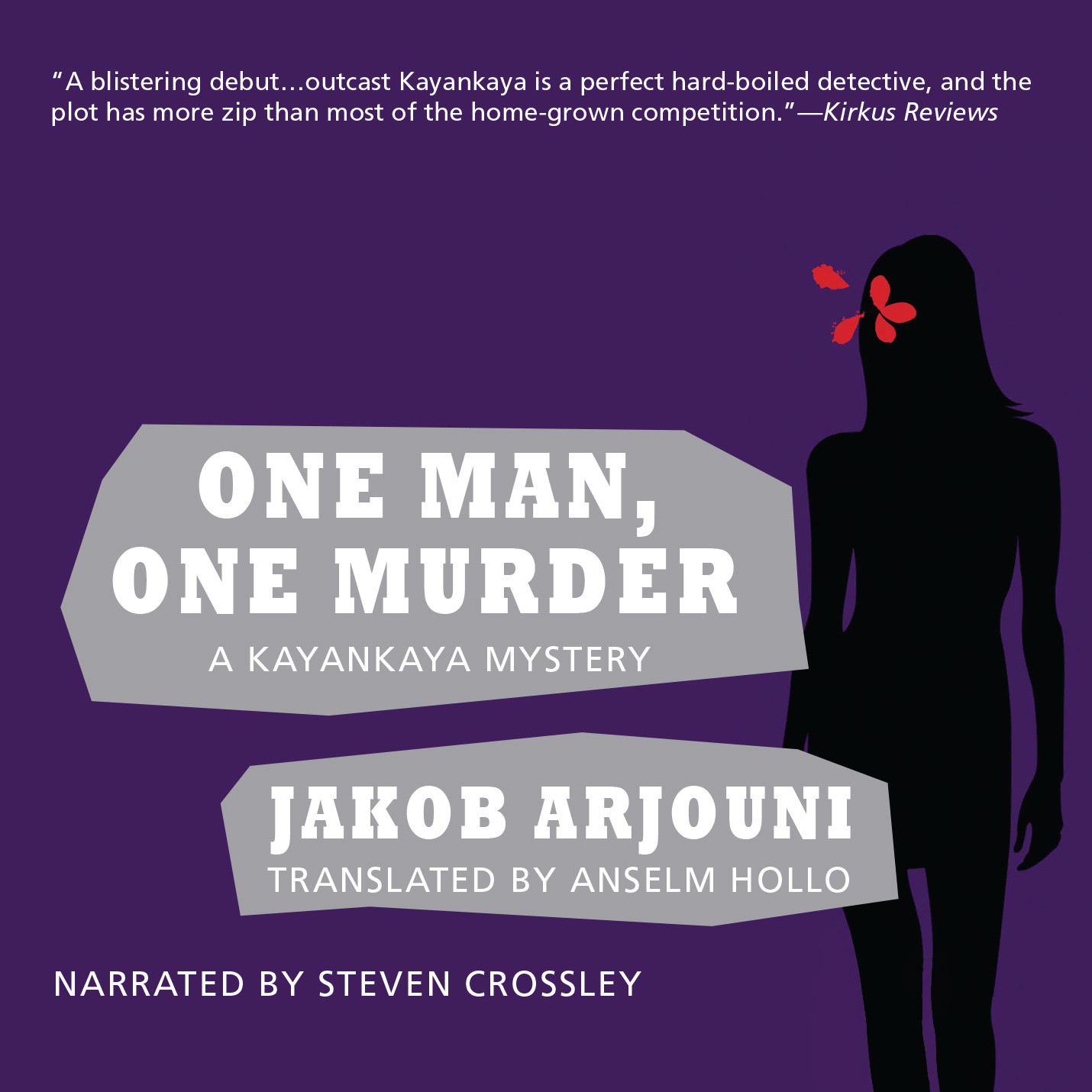 Printable One Man, One Murder Audiobook Cover Art