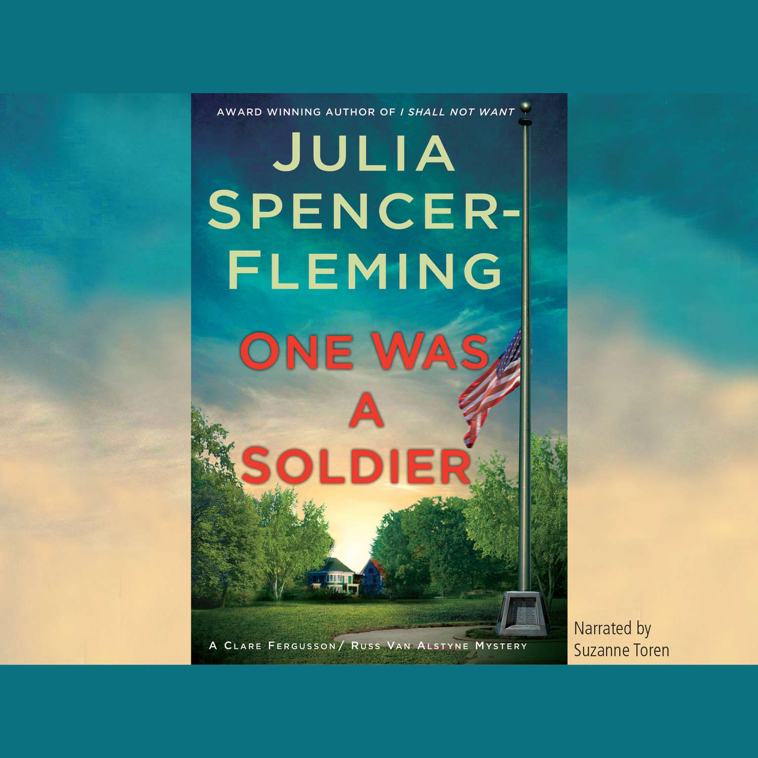 Printable One Was a Soldier Audiobook Cover Art
